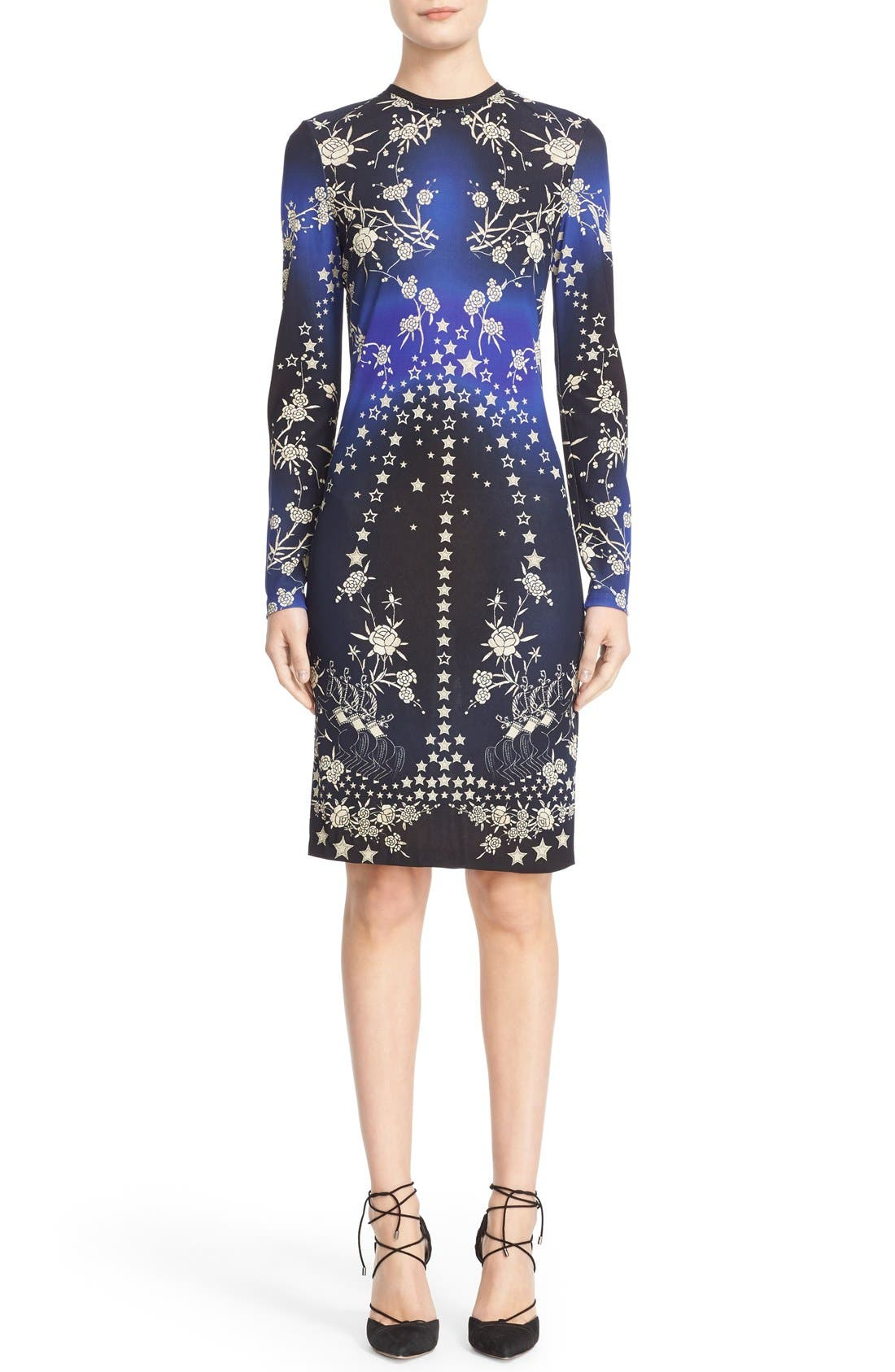 Alternate Image 1 Selected - Roberto Cavalli 'Pretty Thing' Print Jersey Dress