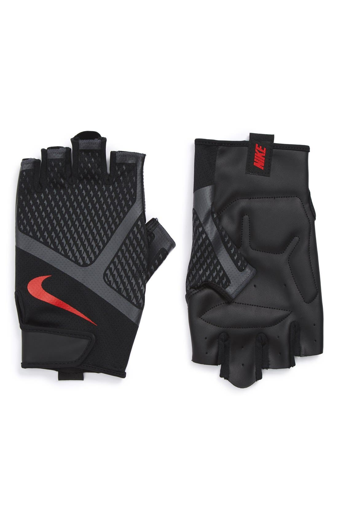 Alternate Image 1 Selected - Nike 'Renegade' Fingerless Padded Training Gloves