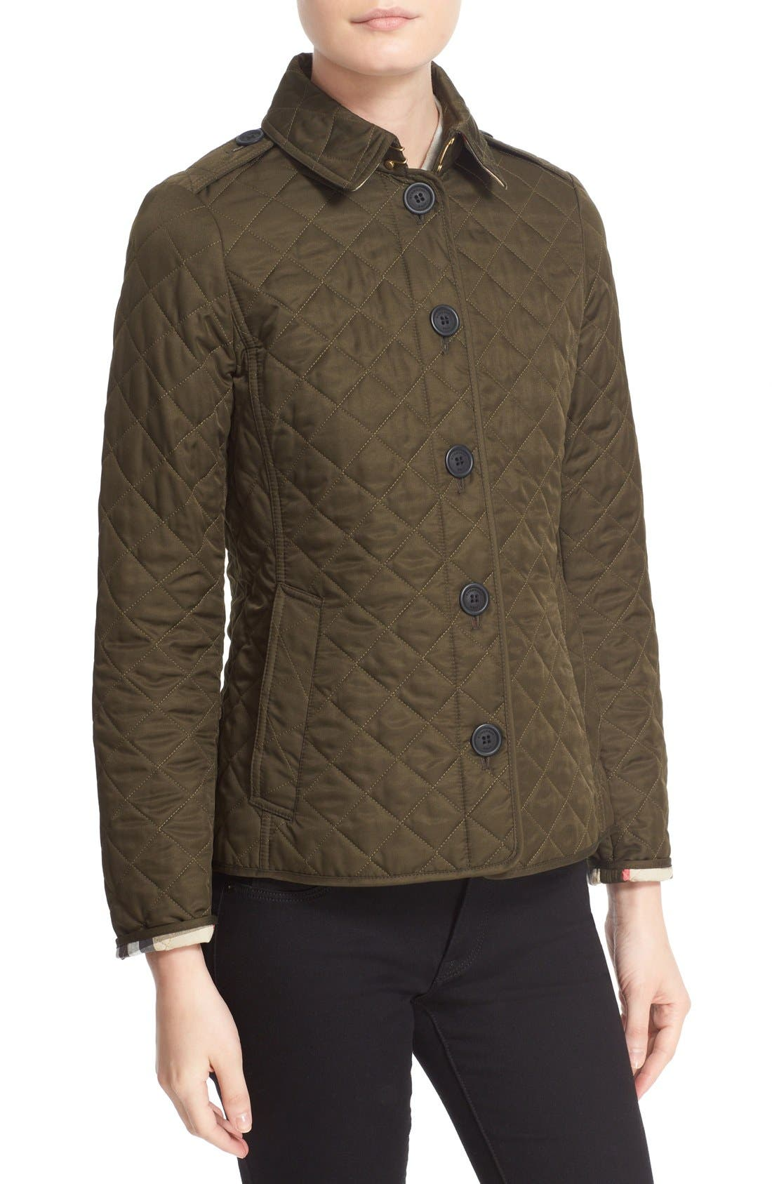 Alternate Image 5  - Burberry Ashurst Quilted Jacket