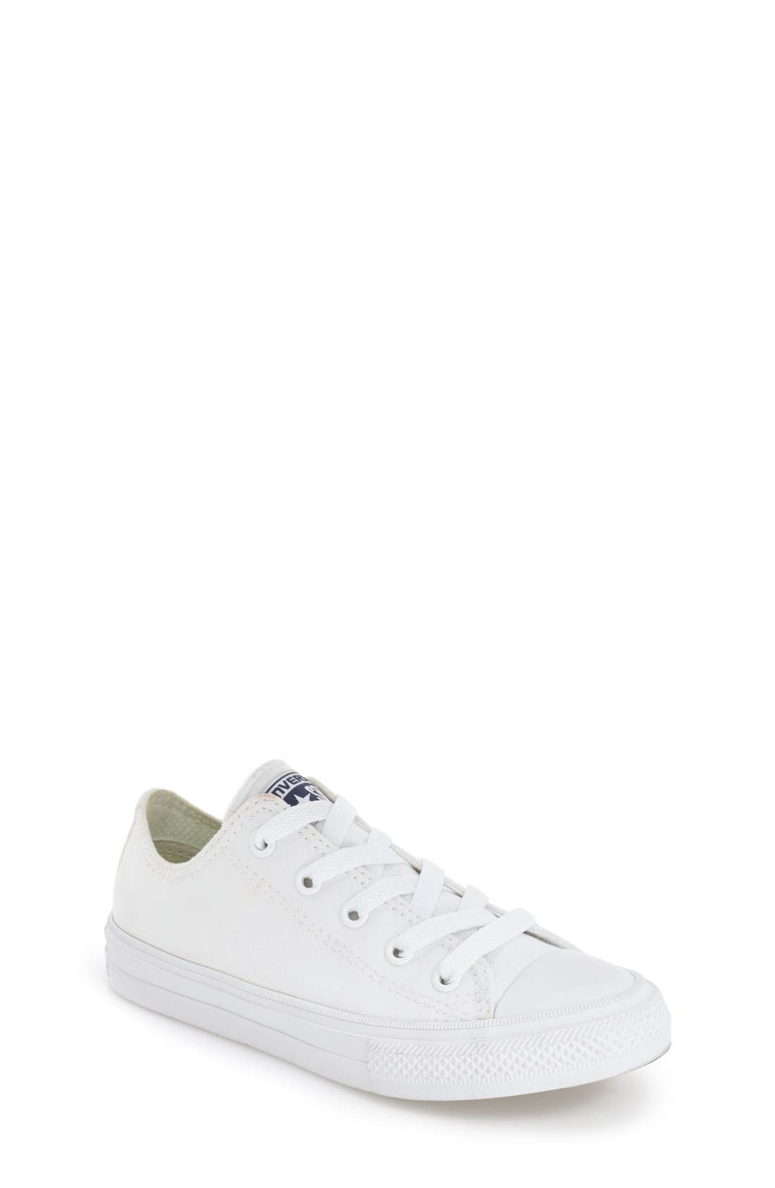Main Image - Converse Chuck Taylor® All Star® II Ox Low Top Sneaker (Walker, Toddler, Little Kid & Big Kid)