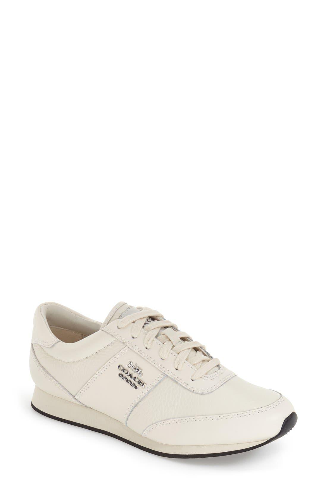 COACH 'Raylen' Leather Sneaker