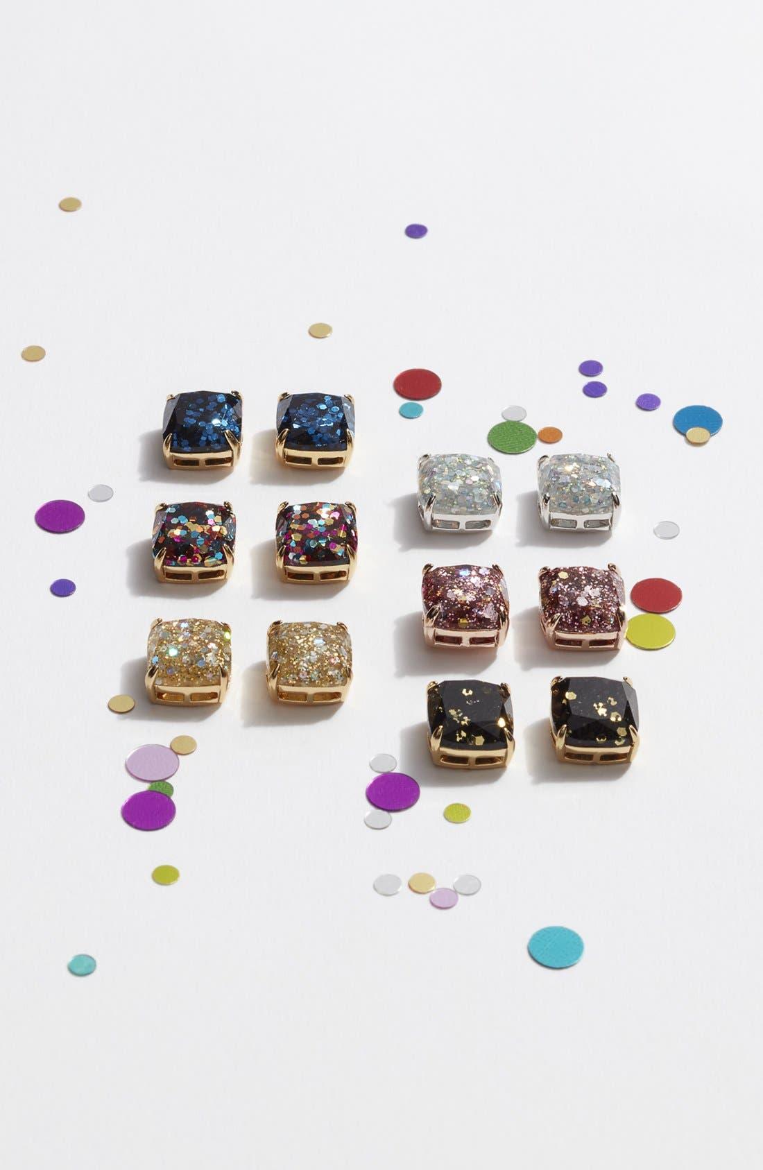 Alternate Image 3  - kate spade new york mini small square stud earrings