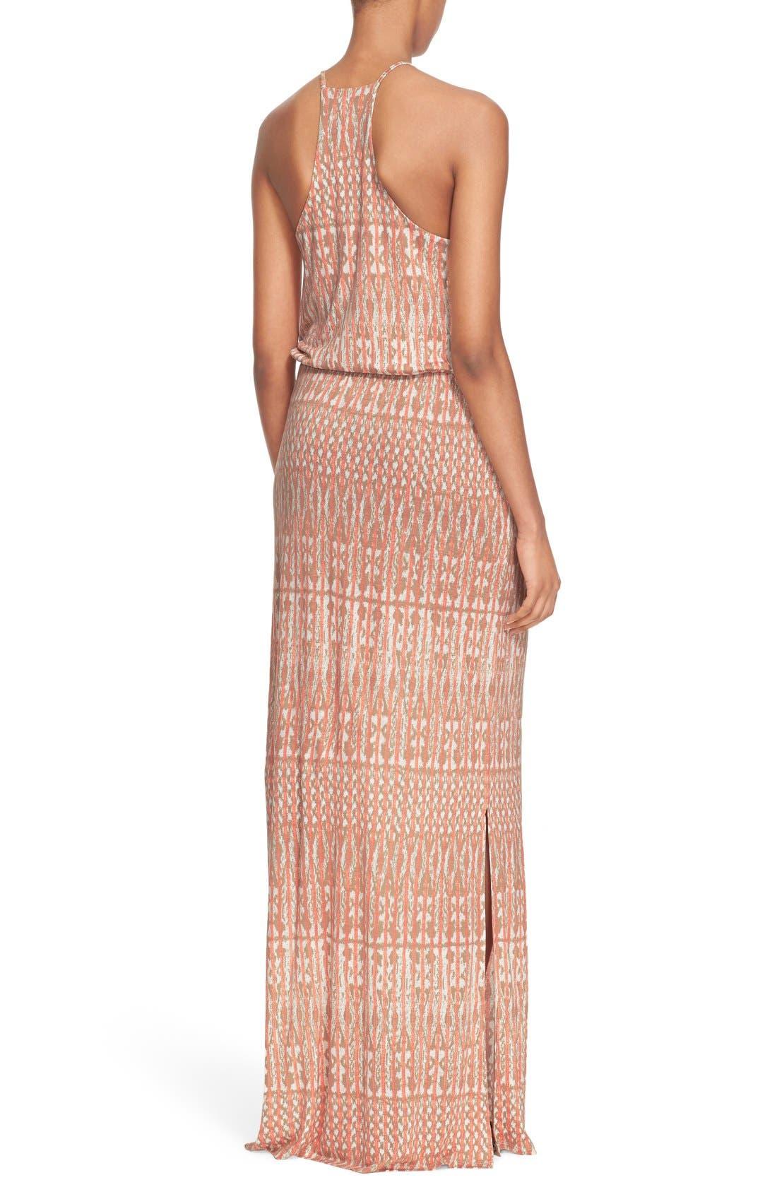 Alternate Image 2  - Joie 'Nahia' Ikat Print Blouson Maxi Dress