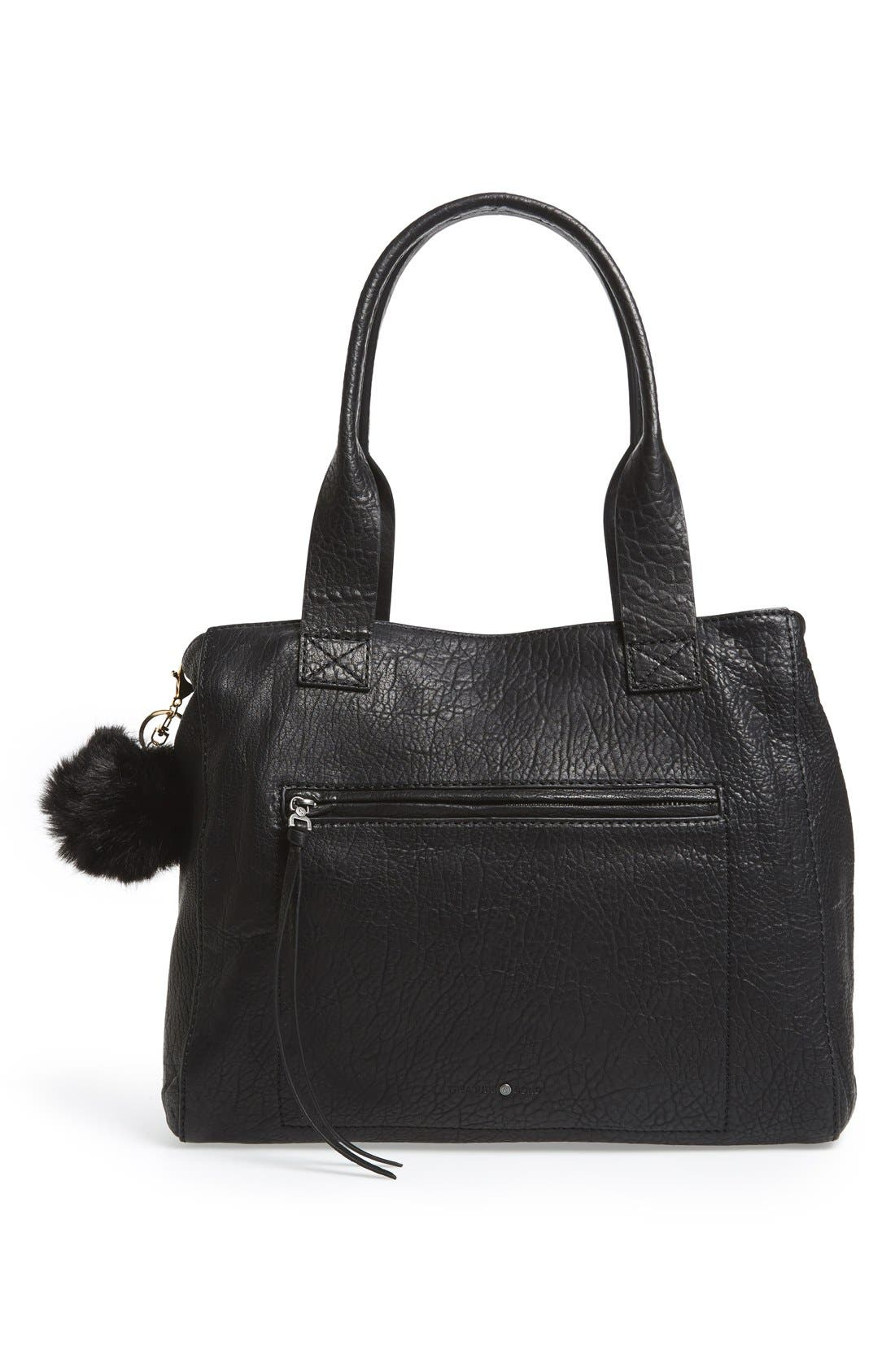 Alternate Image 2  - BP. Faux Fur Pom Bag Charm