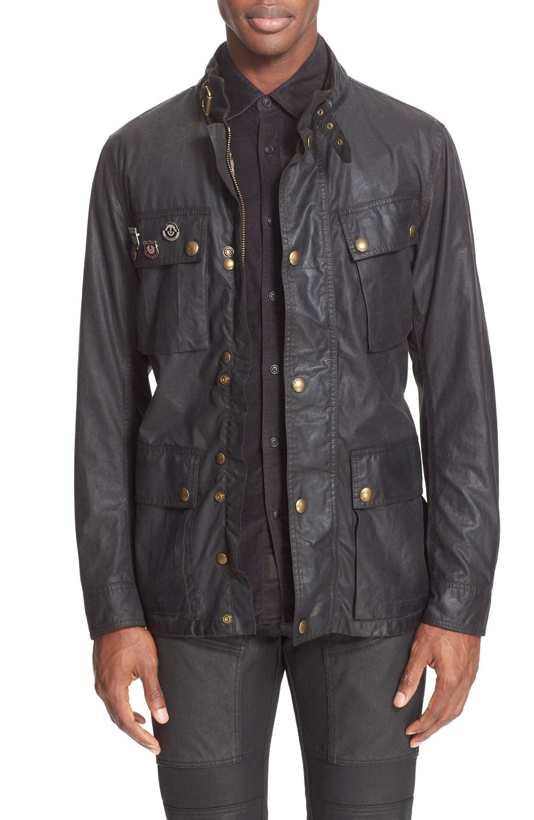 BELSTAFF 'Trialmaster Vintage' Waxed Cotton Jacket