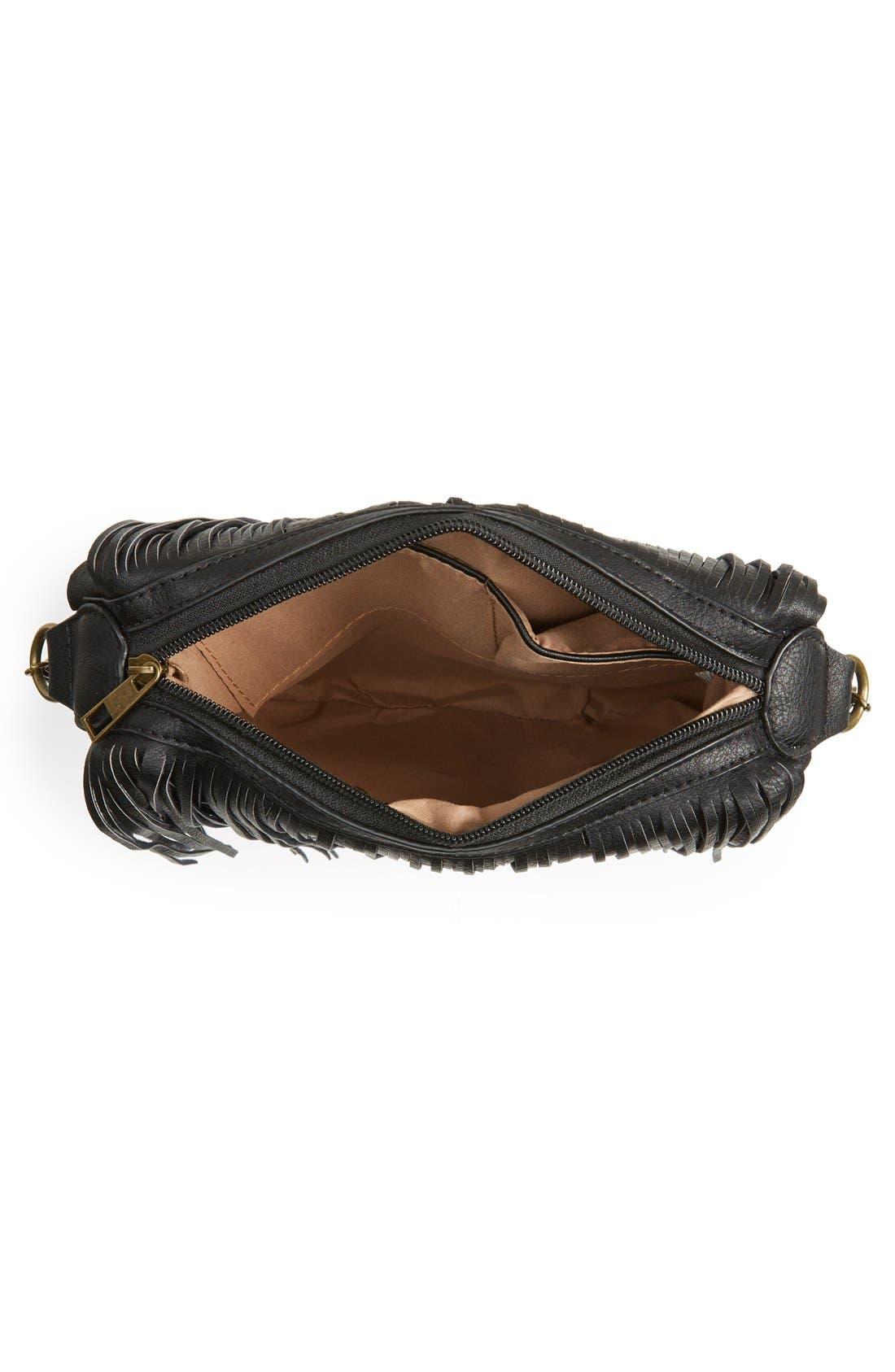 Alternate Image 5  - NU-G 'Boho Fringe' Crossbody Bag