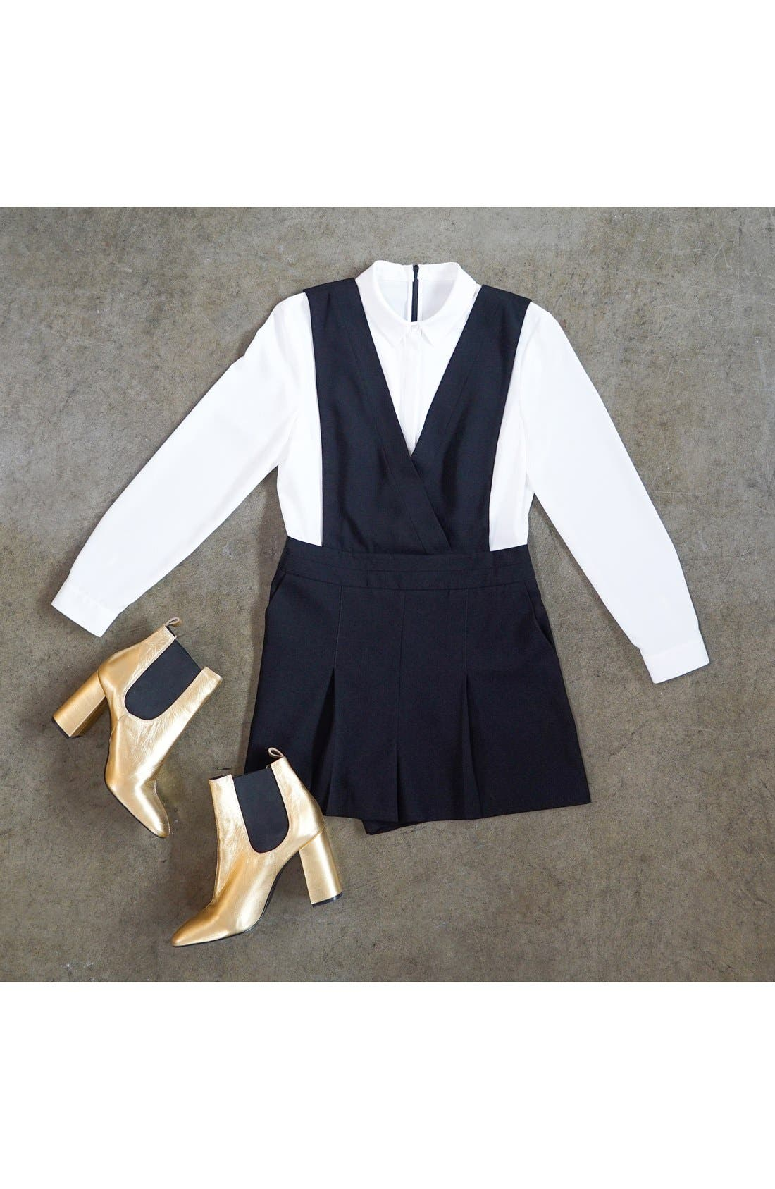 Alternate Image 6  - Topshop One-Piece Pinafore Romper