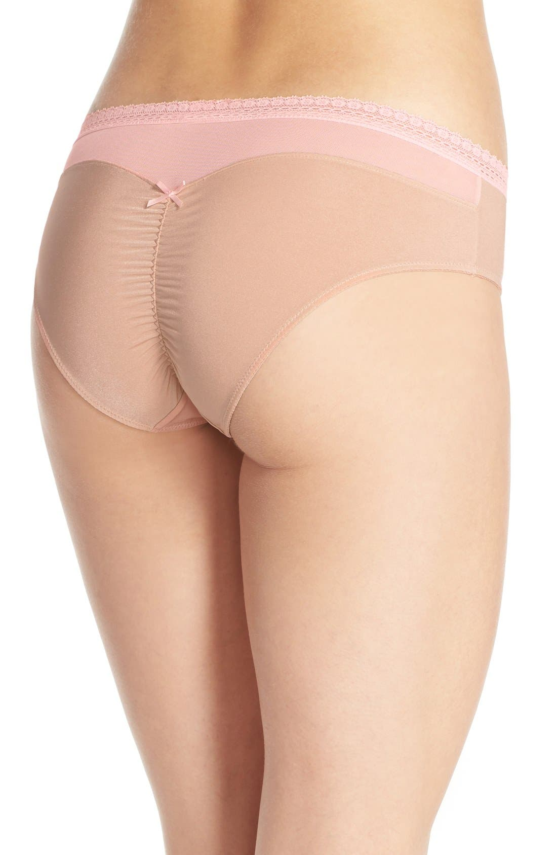 Alternate Image 2  - Betsey Johnson 'Forever Perfect - Cutie' Hipster Briefs (3 for $33)