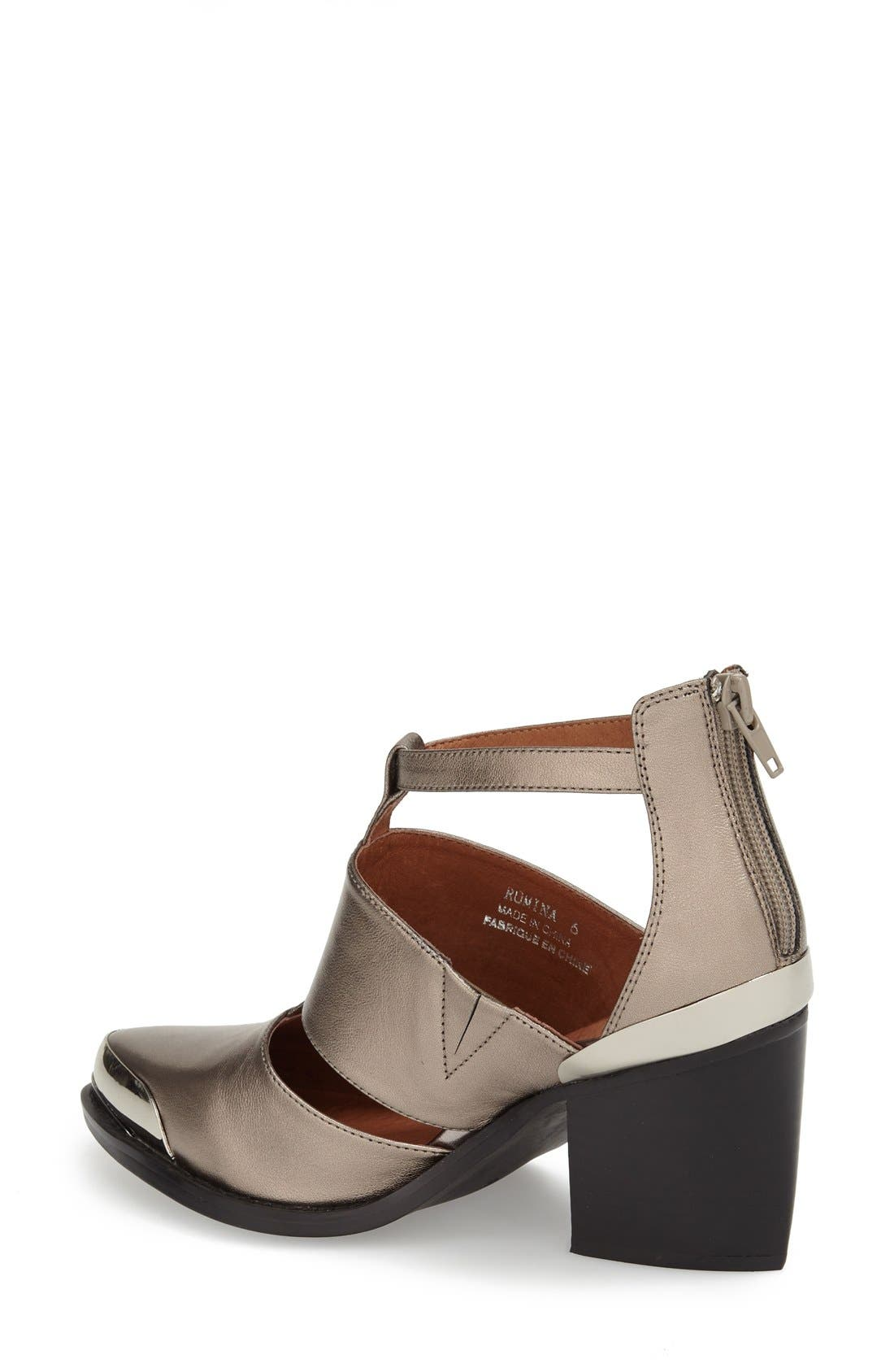 Alternate Image 2  - Jeffrey Campbell 'Romina' Leather Bootie (Women)