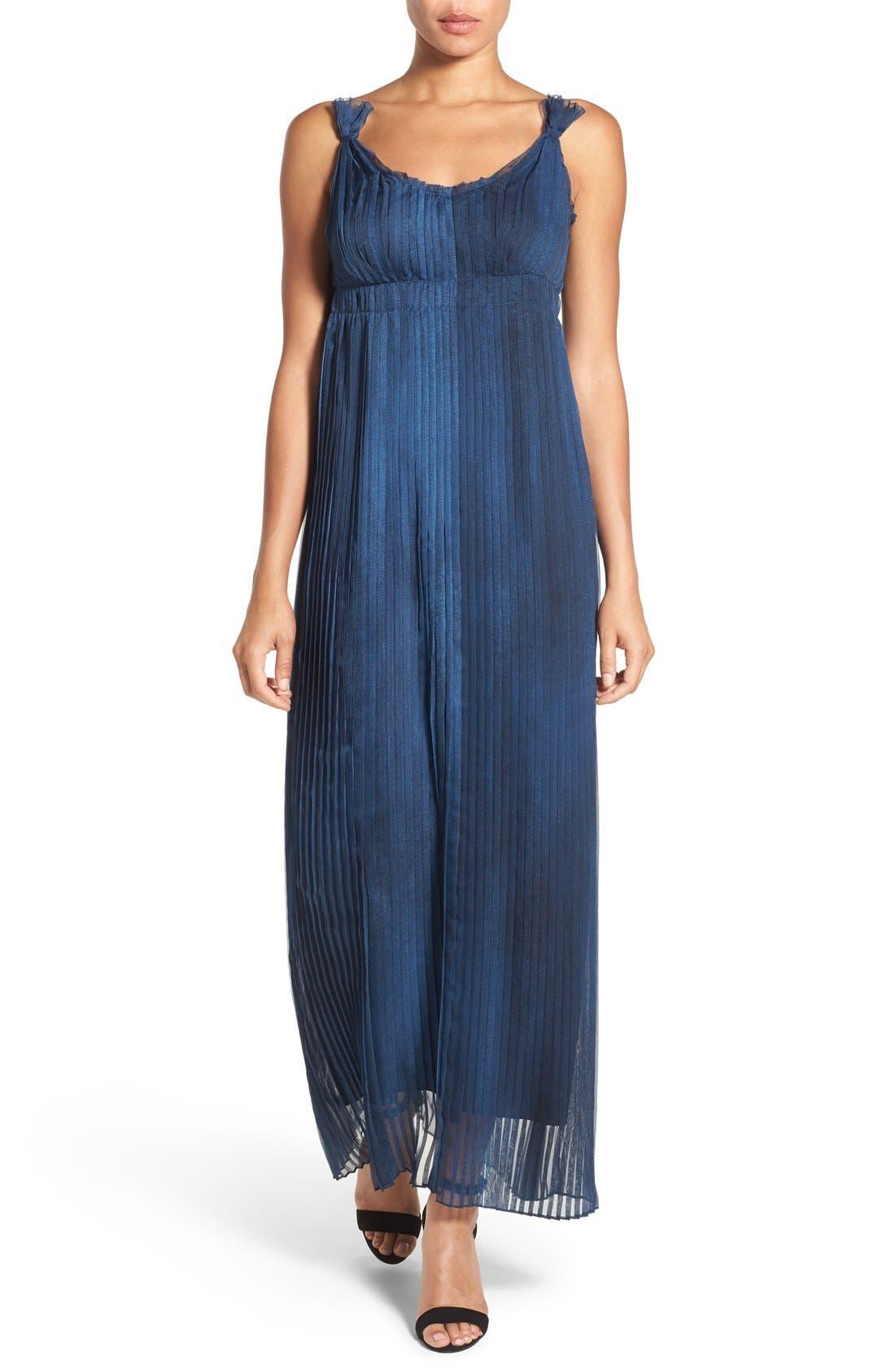 Alternate Image 1 Selected - Elie Tahari 'Opal' Pleated Maxi Dress