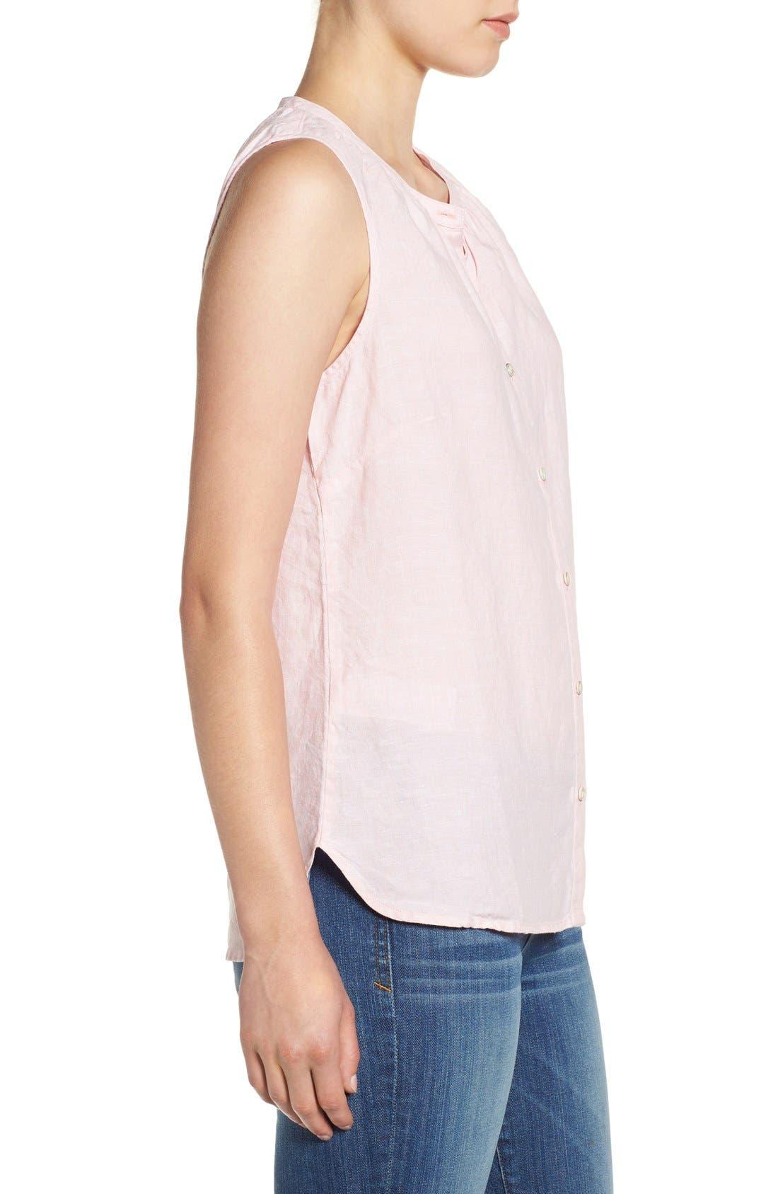 Alternate Image 3  - Tommy Bahama 'Sunset Chambray' Sleeveless Shirt