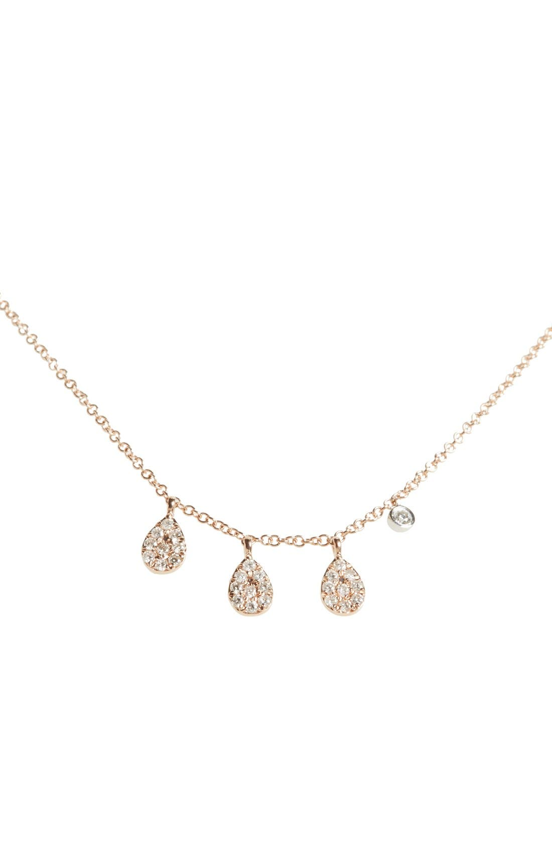 MEIRA T MeiraT Teardrop Pendant Necklace