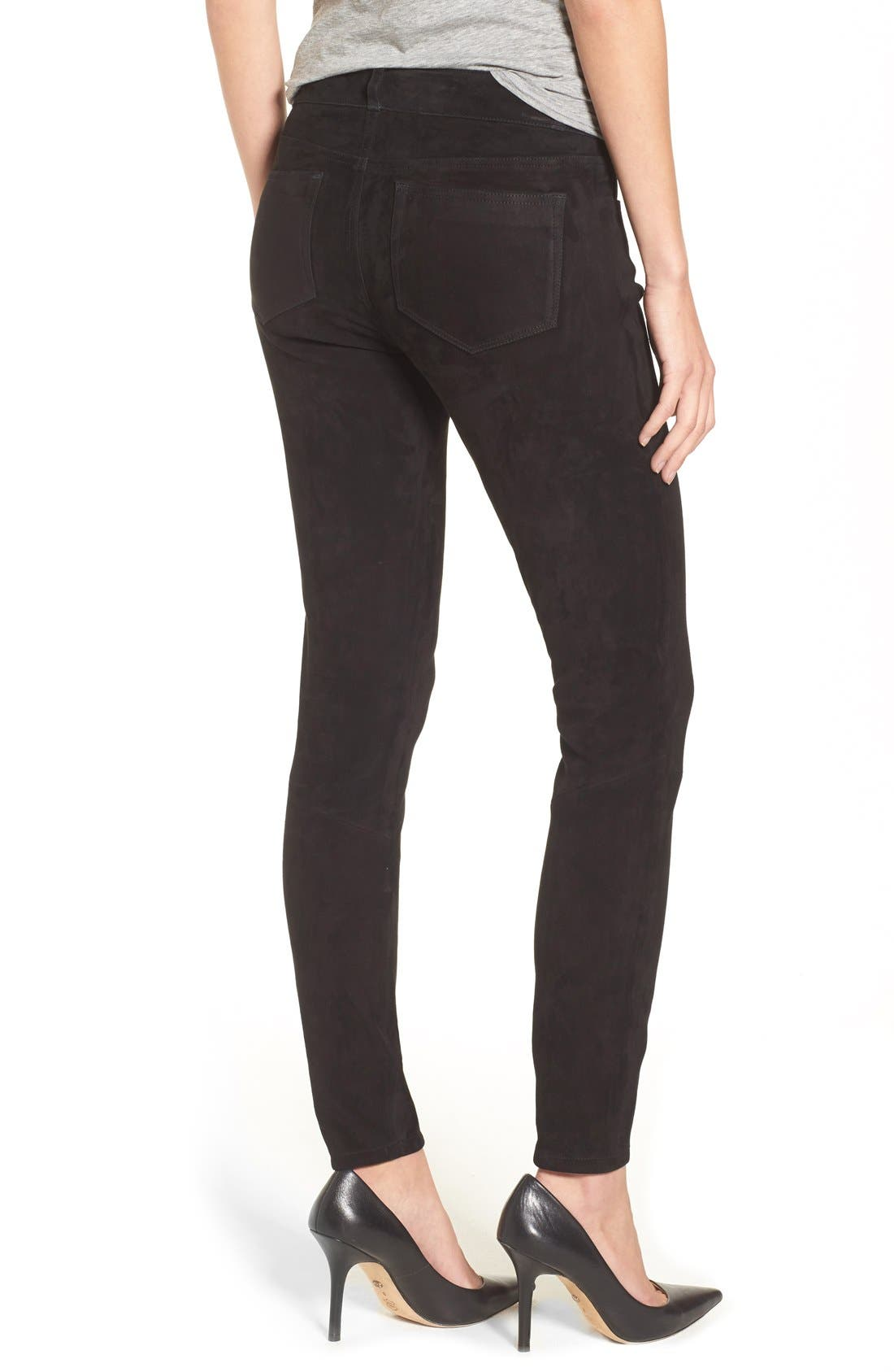 Alternate Image 2  - Paige Denim 'Verdugo' Suede Pants