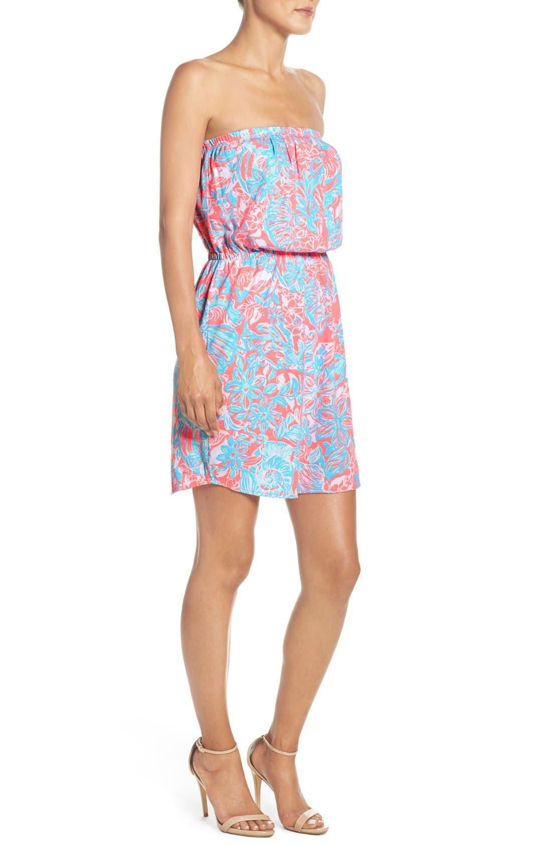 Alternate Image 4  - Lilly Pulitzer® 'Windsor' Pima Cotton Blouson Dress