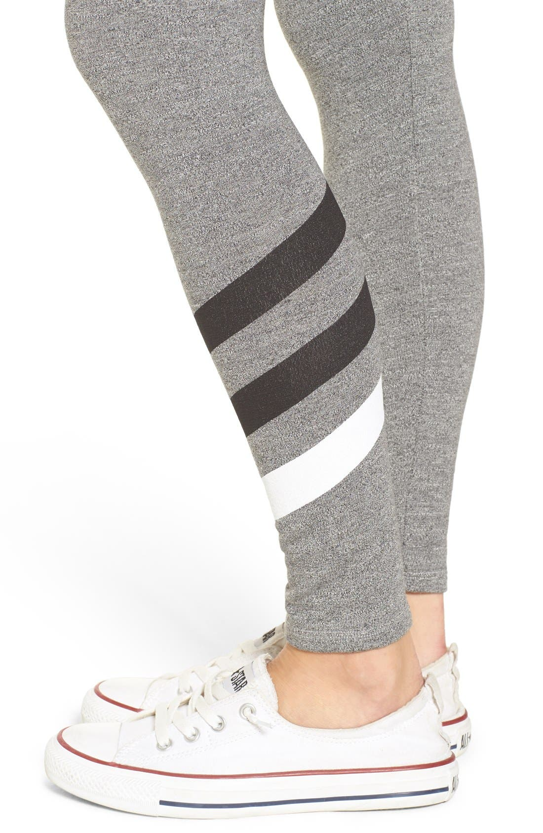 Alternate Image 4  - Sundry 'Stripes' Yoga Pants