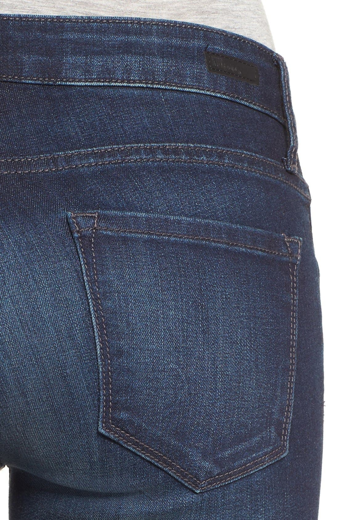 Alternate Image 4  - KUT from the Kloth 'Reese' Crop Flare Leg Jeans (Security)