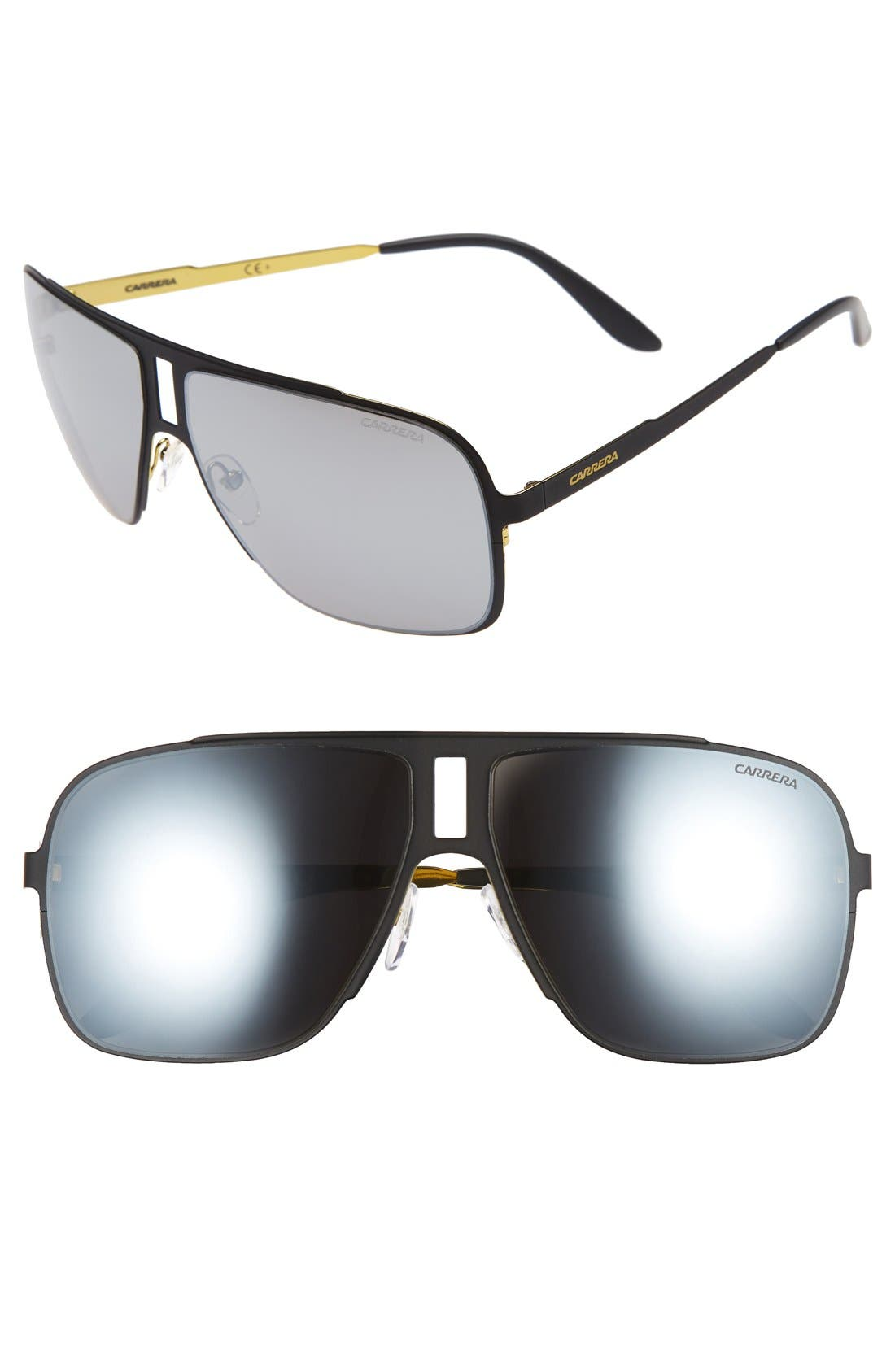 Carrera Eyewear '121/S' 62mm Aviator Sunglasses