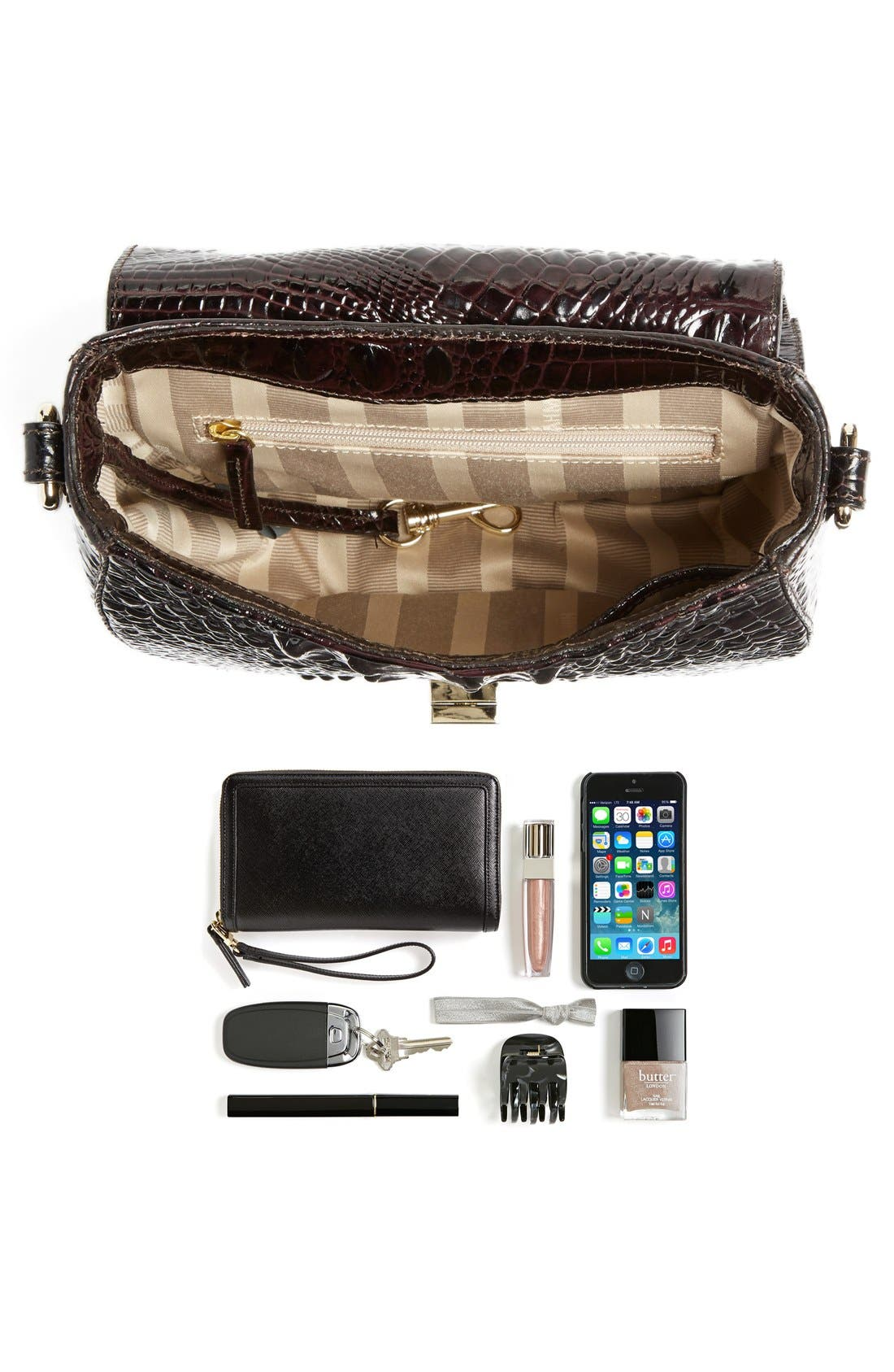 Alternate Image 7  - Brahmin 'Tillie' Embossed Leather Crossbody Bag (Nordstrom Exclusive)
