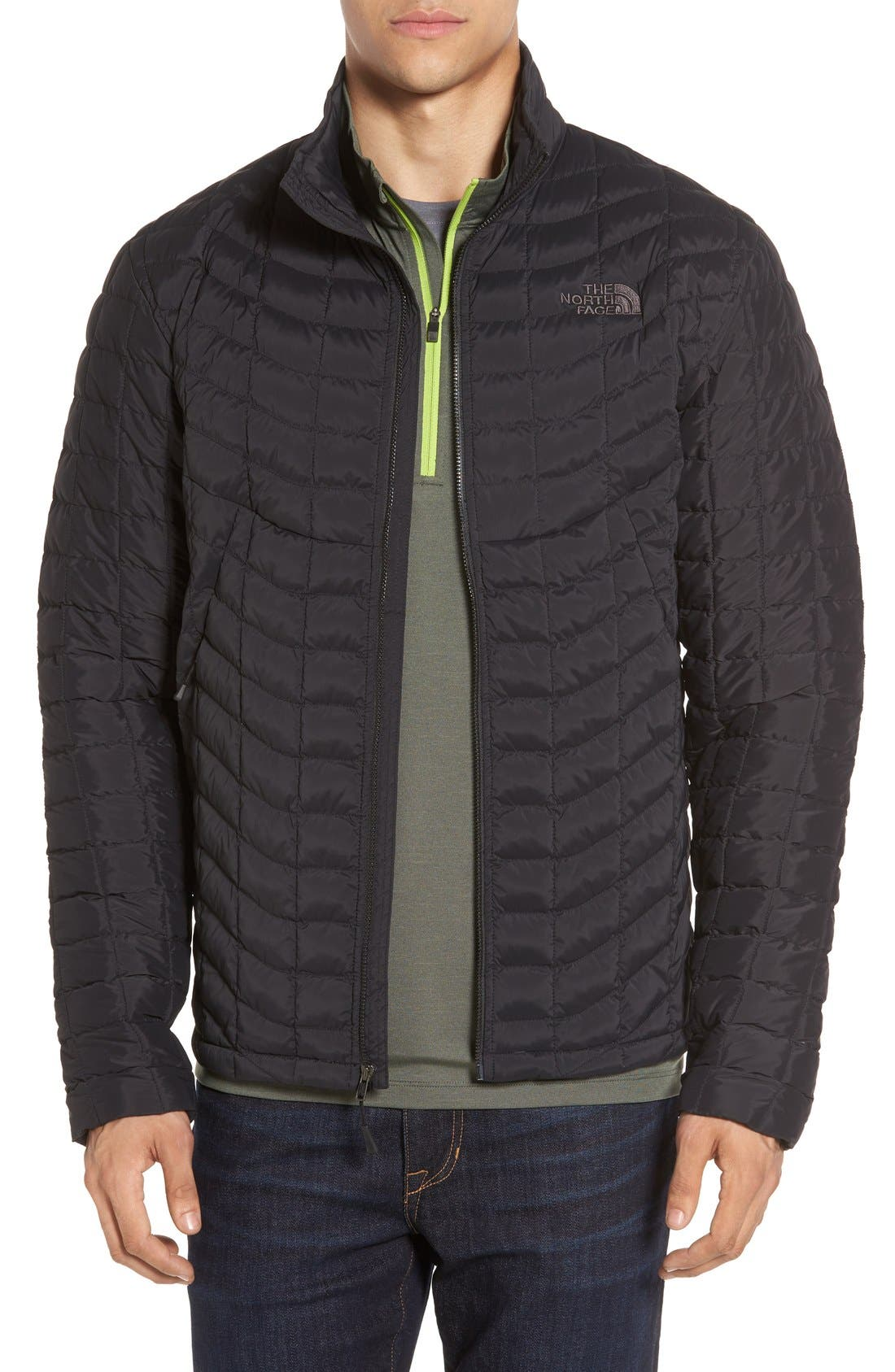 Alternate Image 1 Selected - The North Face Packable Stretch ThermoBall™ PrimaLoft® Jacket