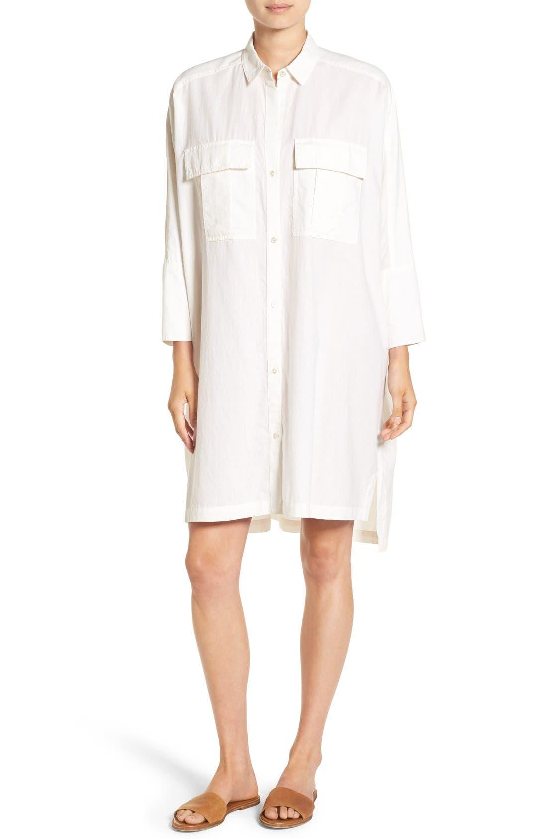Alternate Image 1 Selected - James Perse Cotton Shirtdress