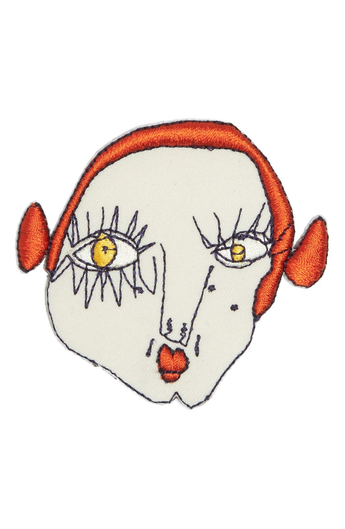 Main Image - Shrimps TBD Embroidered Fashion Accessory Patch