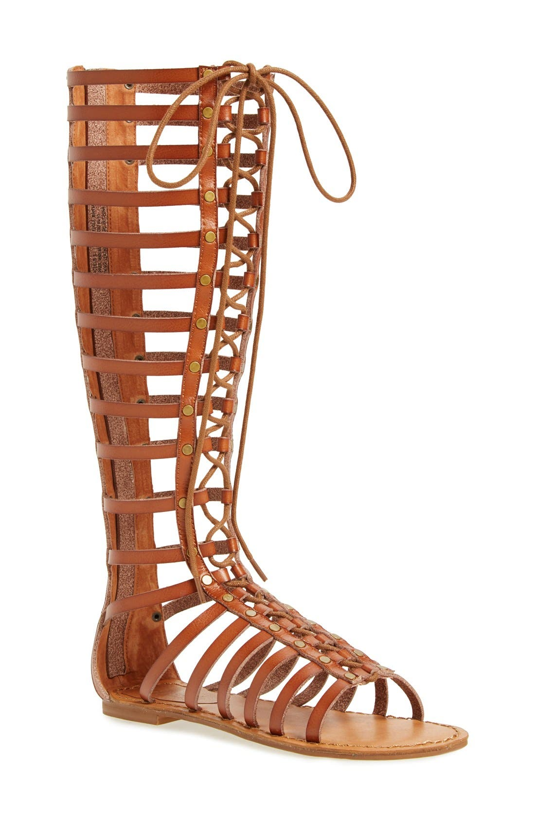 Alternate Image 1 Selected - ZiGi girl 'Jacee' Tall Gladiator Sandal (Women)