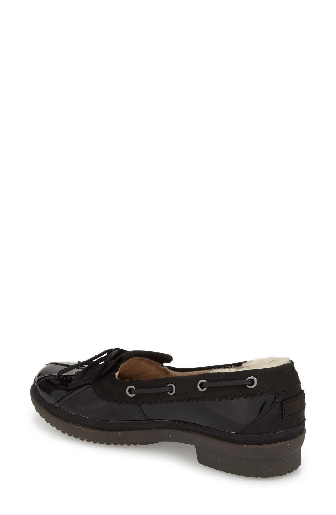 Alternate Image 2  - UGG® Haylie Waterproof Loafer (Women)