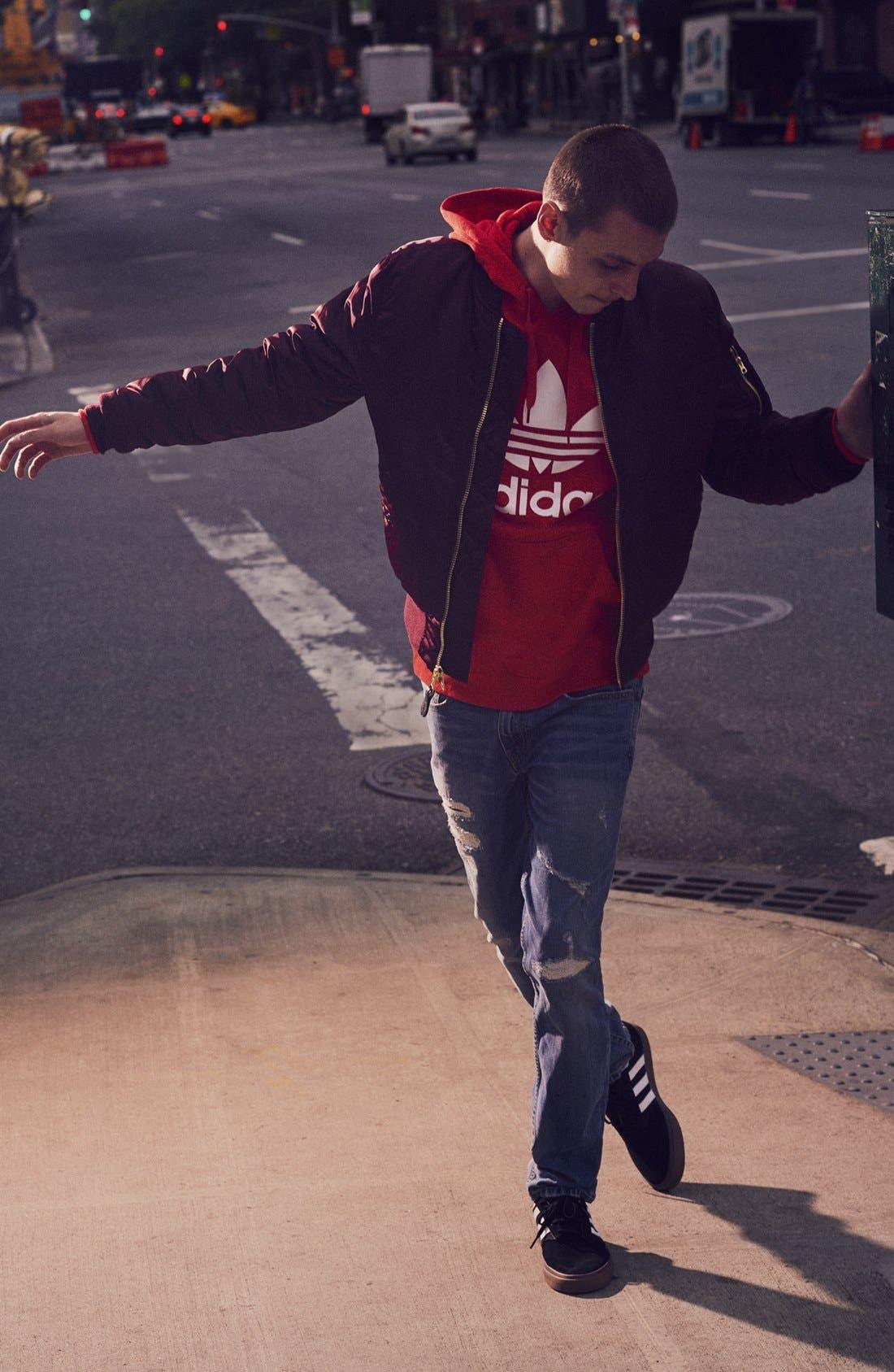 Alternate Image 7  - adidas Originals 'Trefoil' Graphic Hoodie