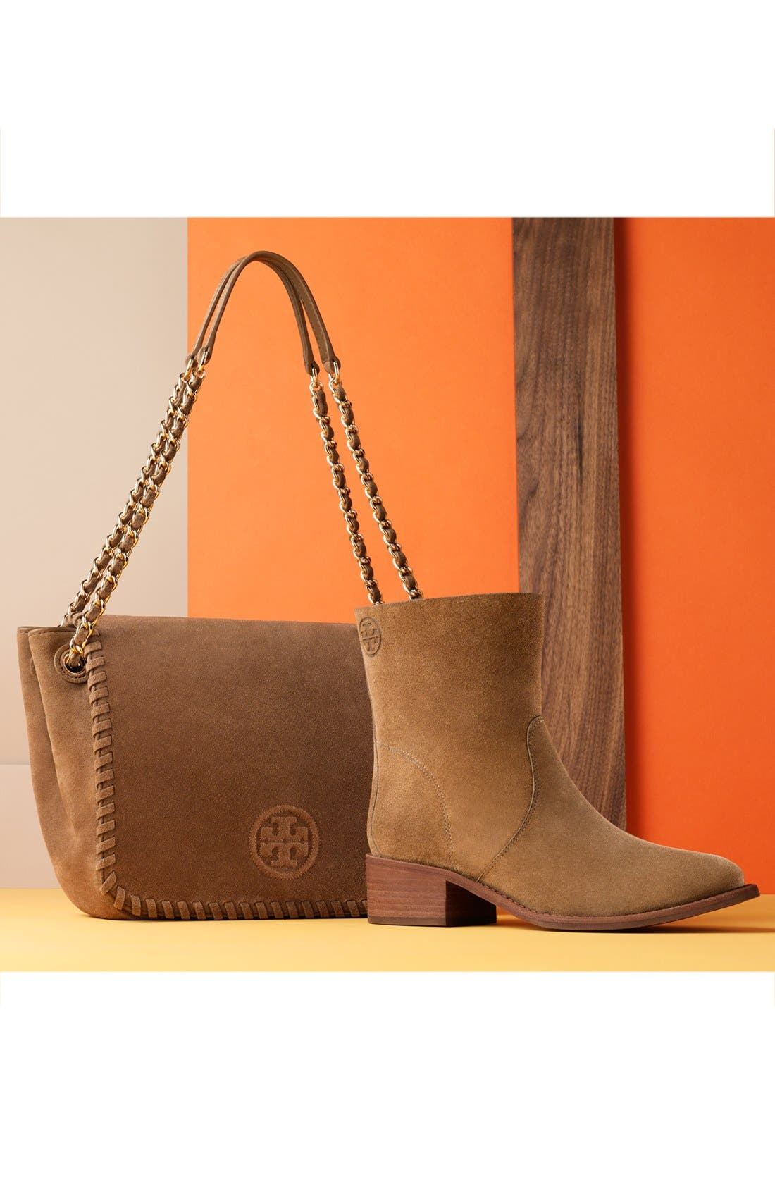 Alternate Image 5  - Tory Burch 'Small Marion' Suede Shoulder Bag