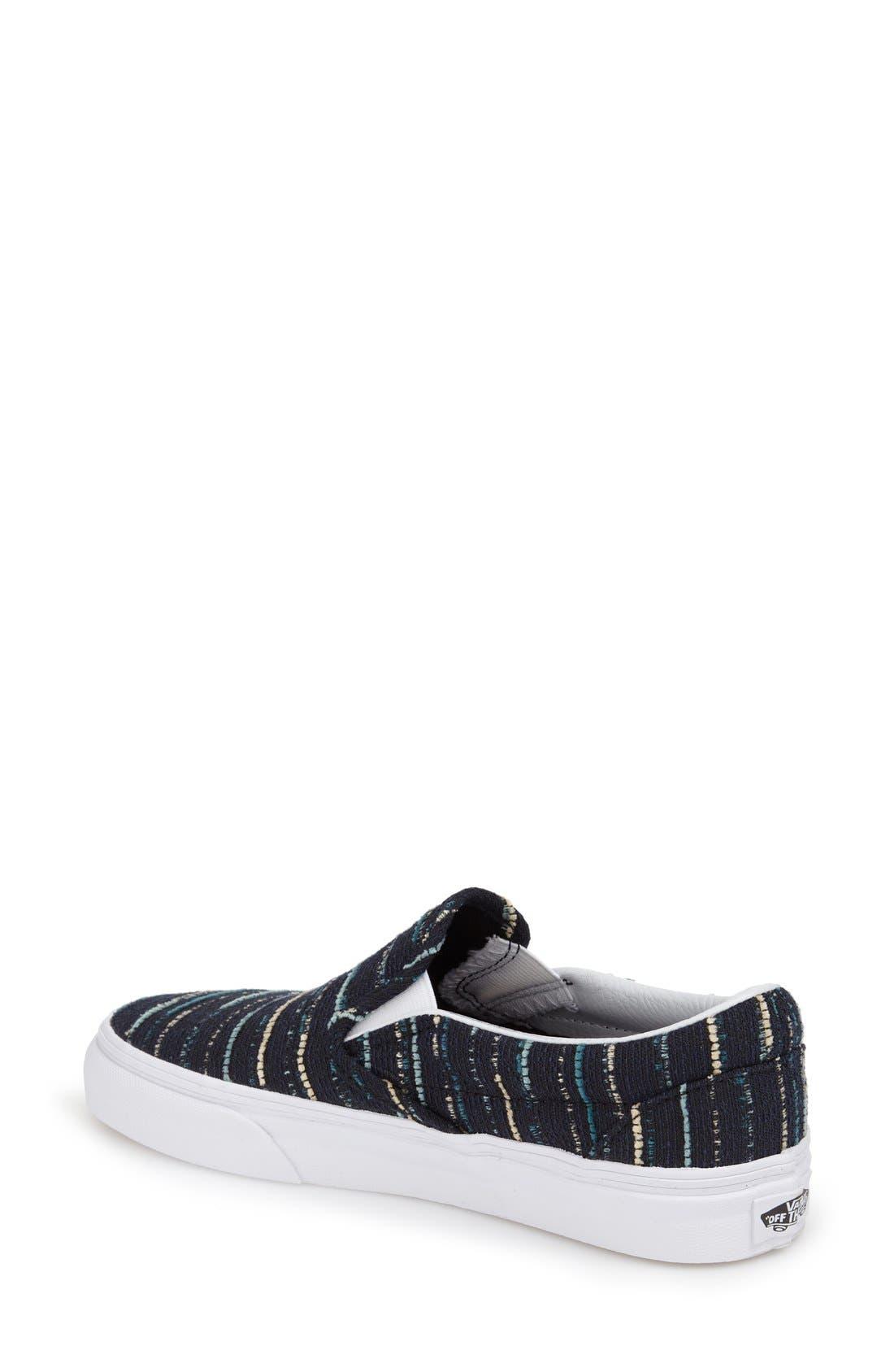 Alternate Image 2  - Vans Classic Slip-On Sneaker (Women)