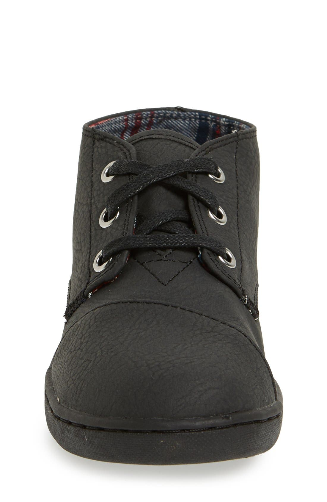 Alternate Image 4  - TOMS 'Paseo - Youth' Mid Boot (Toddler, Little Kid & Big Kid)