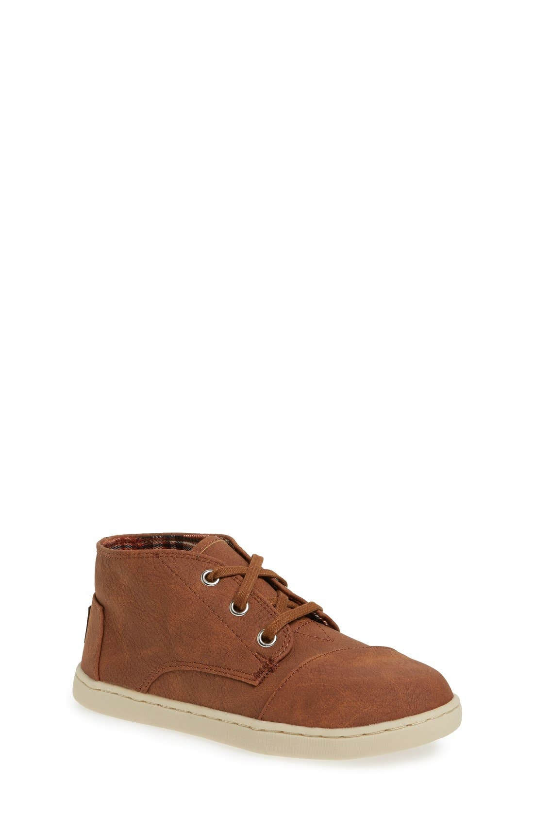 Alternate Image 1 Selected - TOMS 'Paseo - Youth' Mid Boot (Toddler, Little Kid & Big Kid)