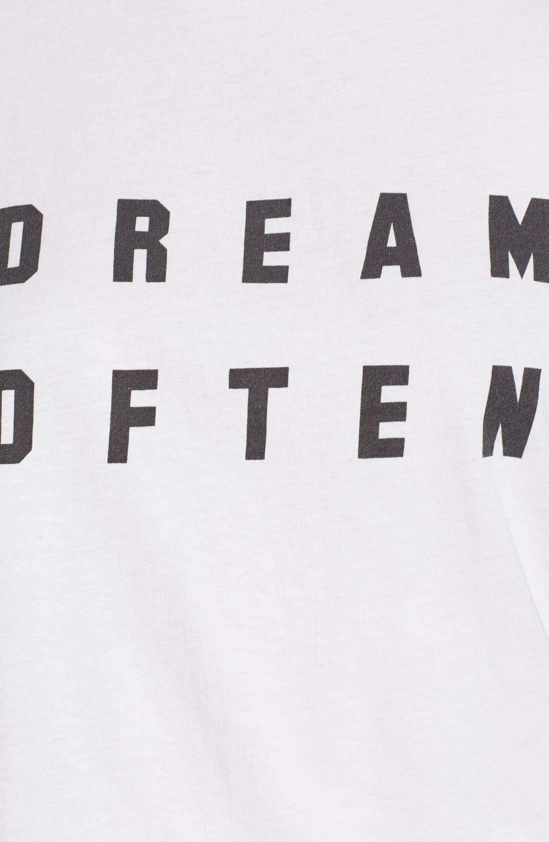 Alternate Image 6  - Sincerely Jules 'Dream Often' Graphic Tee