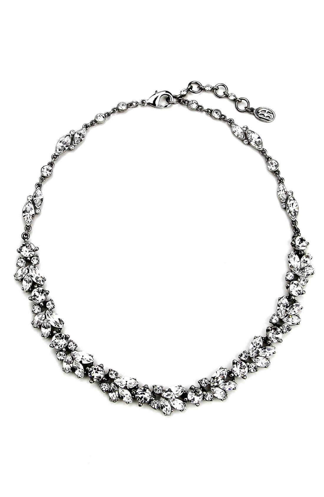 BEN-AMUN 'Crystal Vine' Collar Necklace