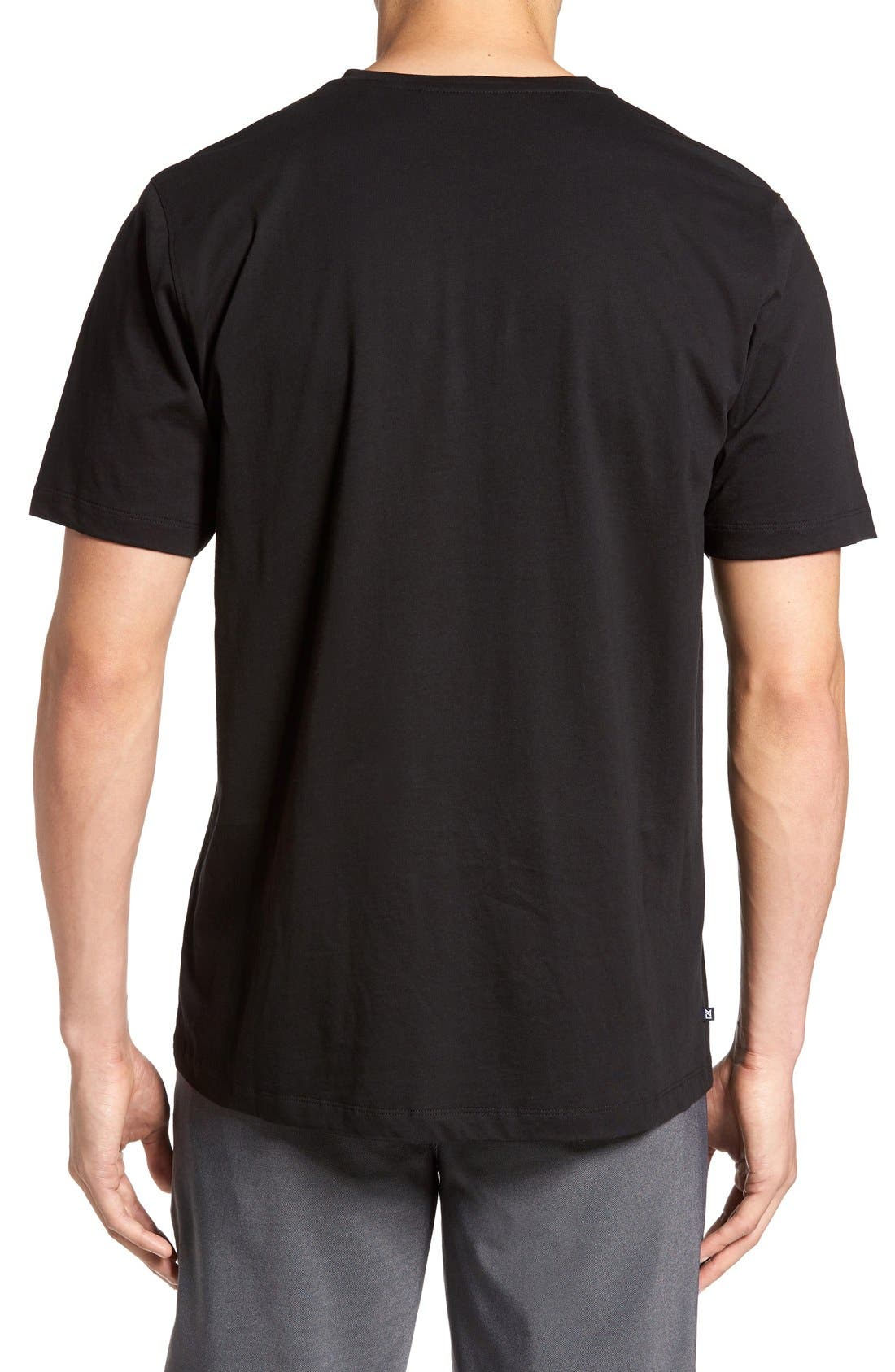 Alternate Image 2  - Cutter & Buck 'Sida' V-Neck T-Shirt (Big & Tall)