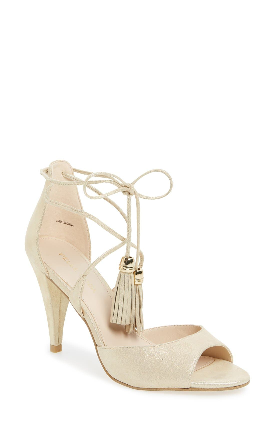 Main Image - Pelle Moda 'Ruel' Tasseled Sandal (Women)