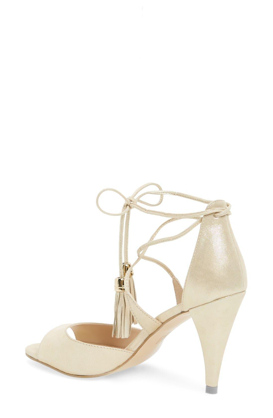 Alternate Image 2  - Pelle Moda 'Ruel' Tasseled Sandal (Women)