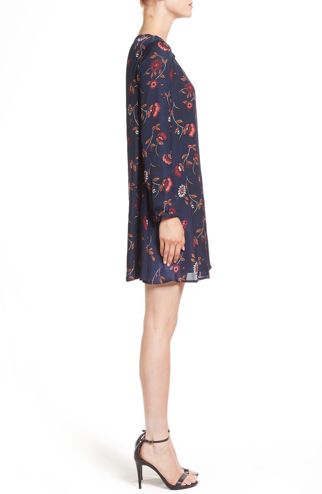 Alternate Image 3  - cupcakes and cashmere 'Hazel' Long Sleeve Shift Dress