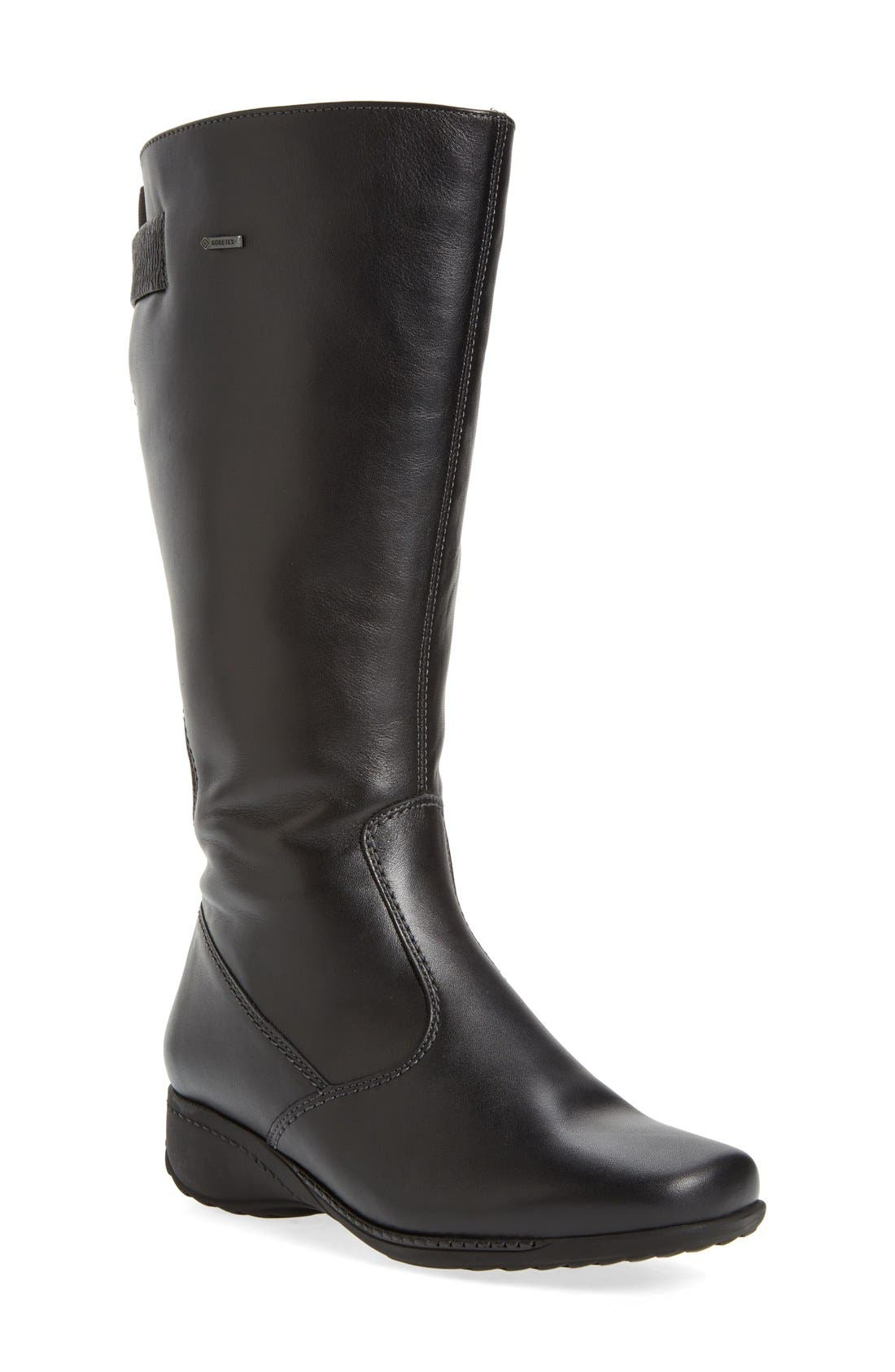 ara 'Leslie' Waterproof Gore-Tex® Boot (Women) (Wide Calf)