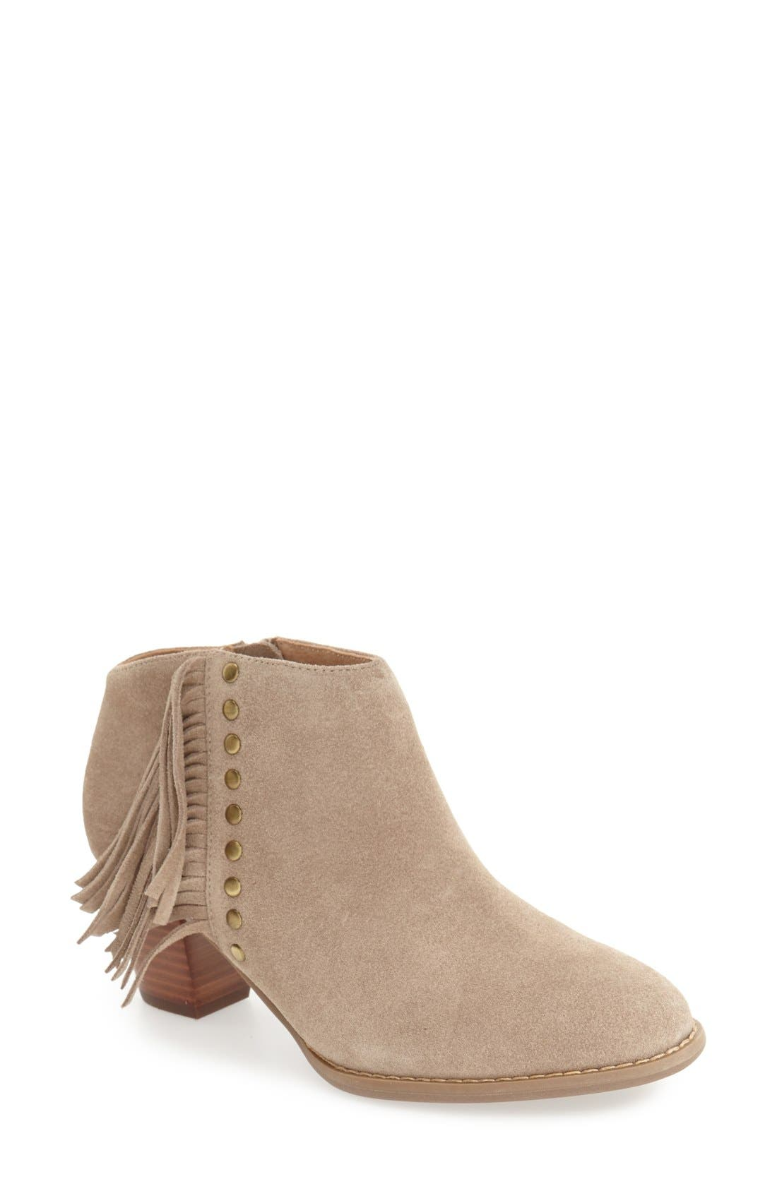 Alternate Image 1 Selected - Vionic 'Faros' Suede Bootie (Women)