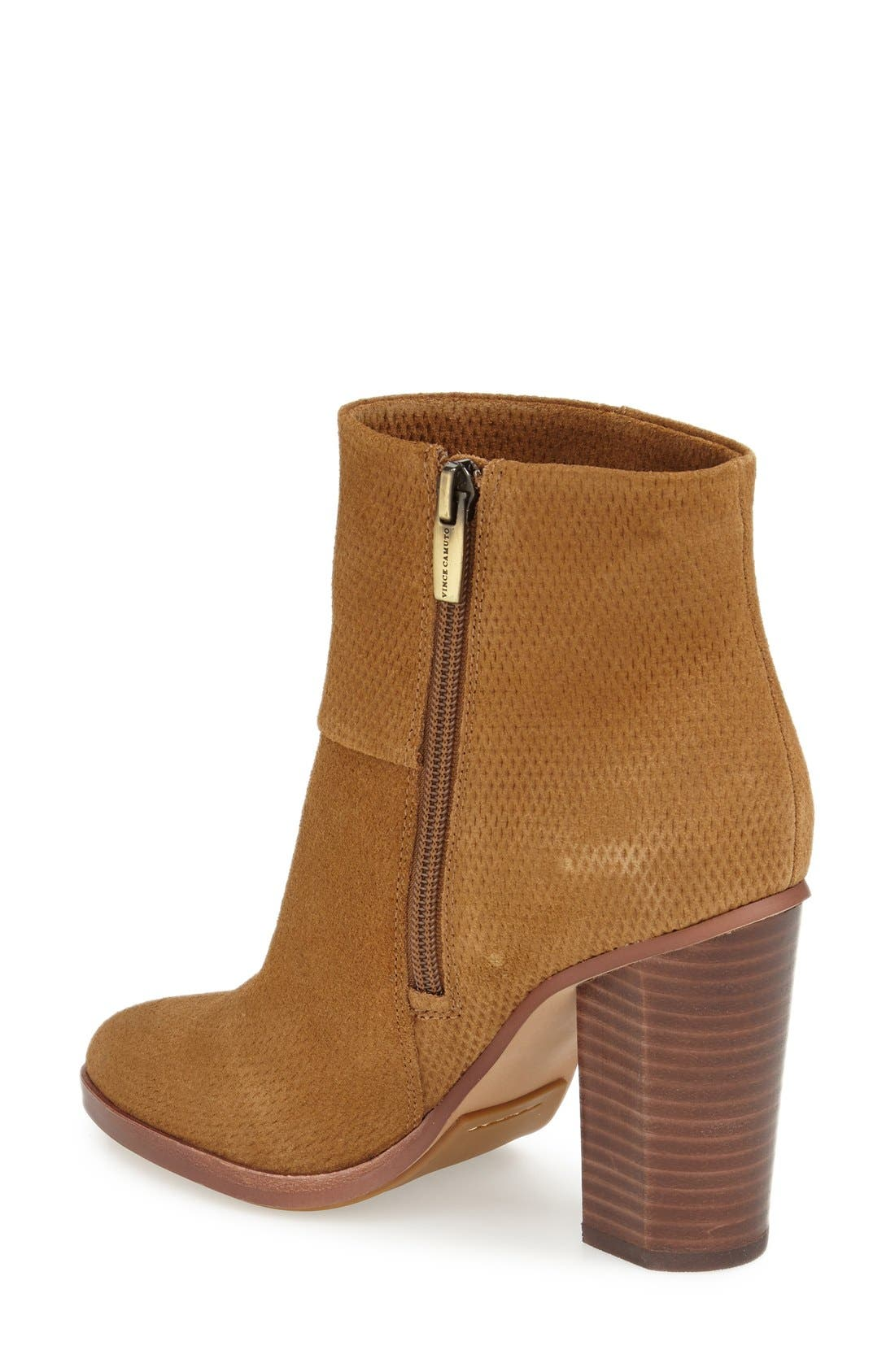 Alternate Image 2  - Vince Camuto 'Larena' Almond Toe Bootie (Women)