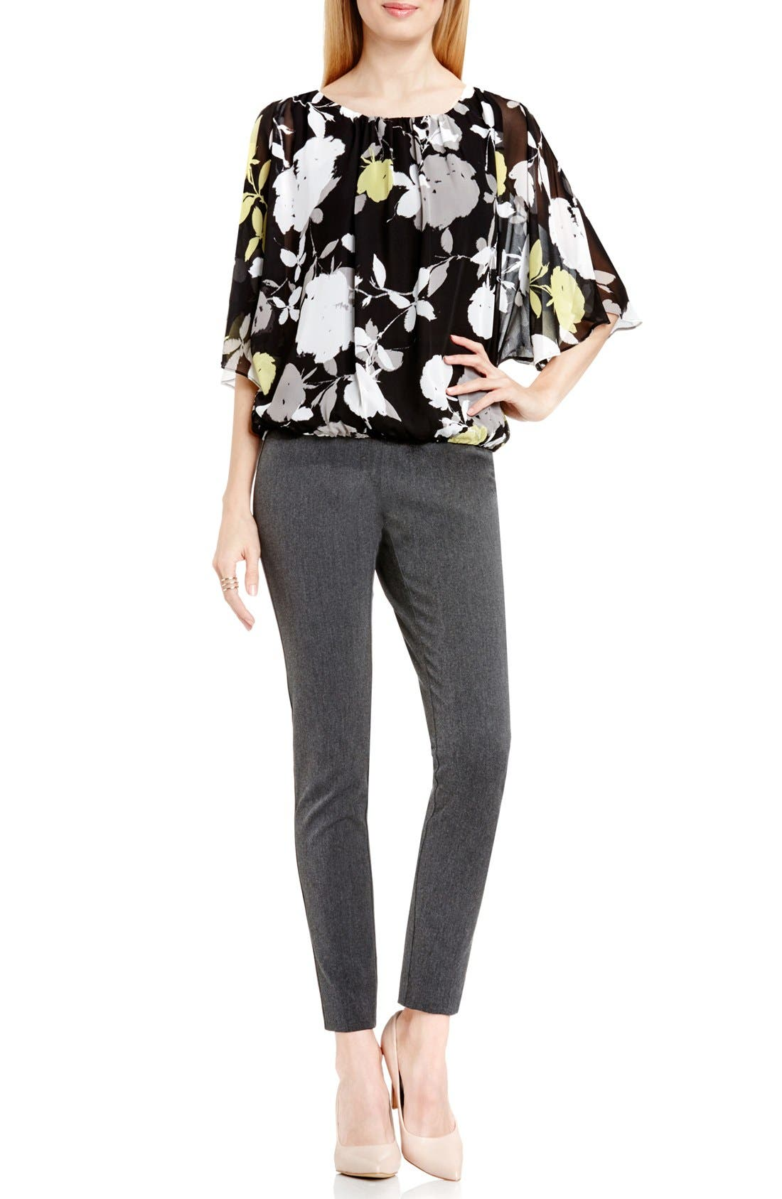 Alternate Image 2  - Vince Camuto 'Chapel Rose' Print Batwing Blouse