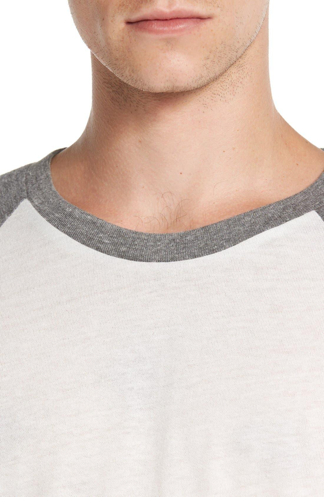 Alternate Image 4  - Alternative Colorblock Baseball T-Shirt