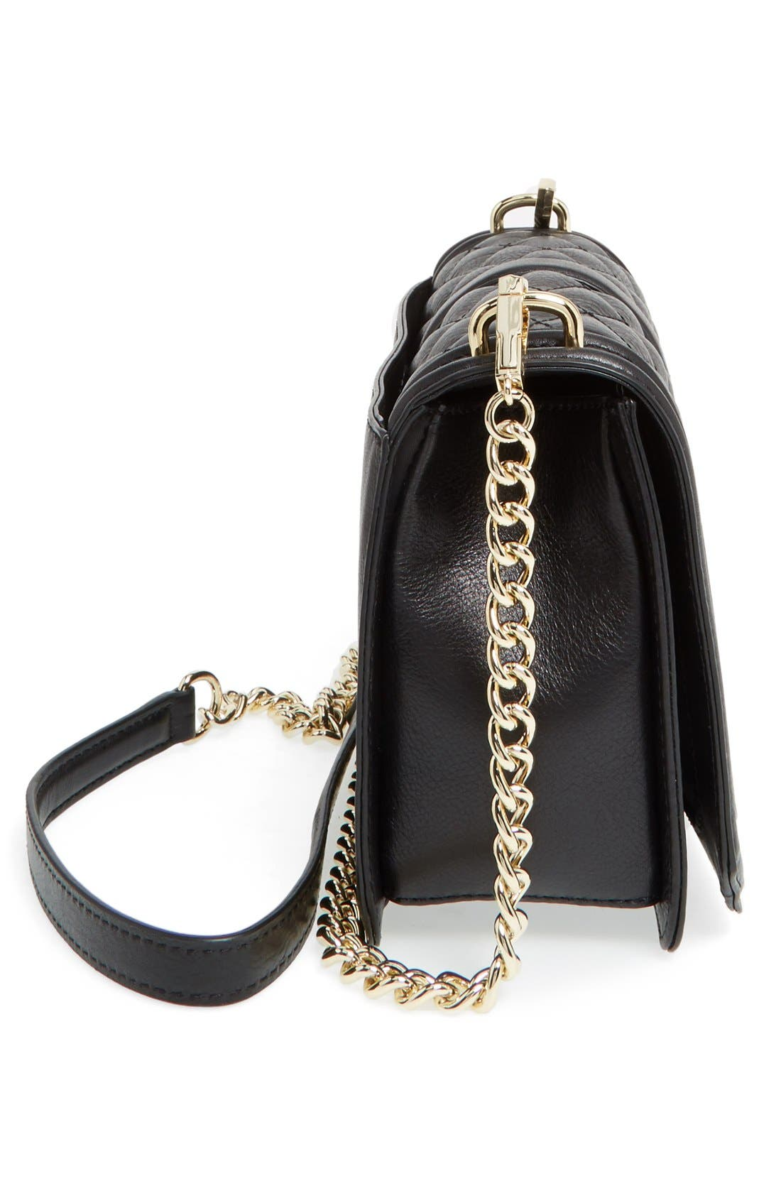 Alternate Image 5  - Rebecca Minkoff Love Leather Crossbody Bag