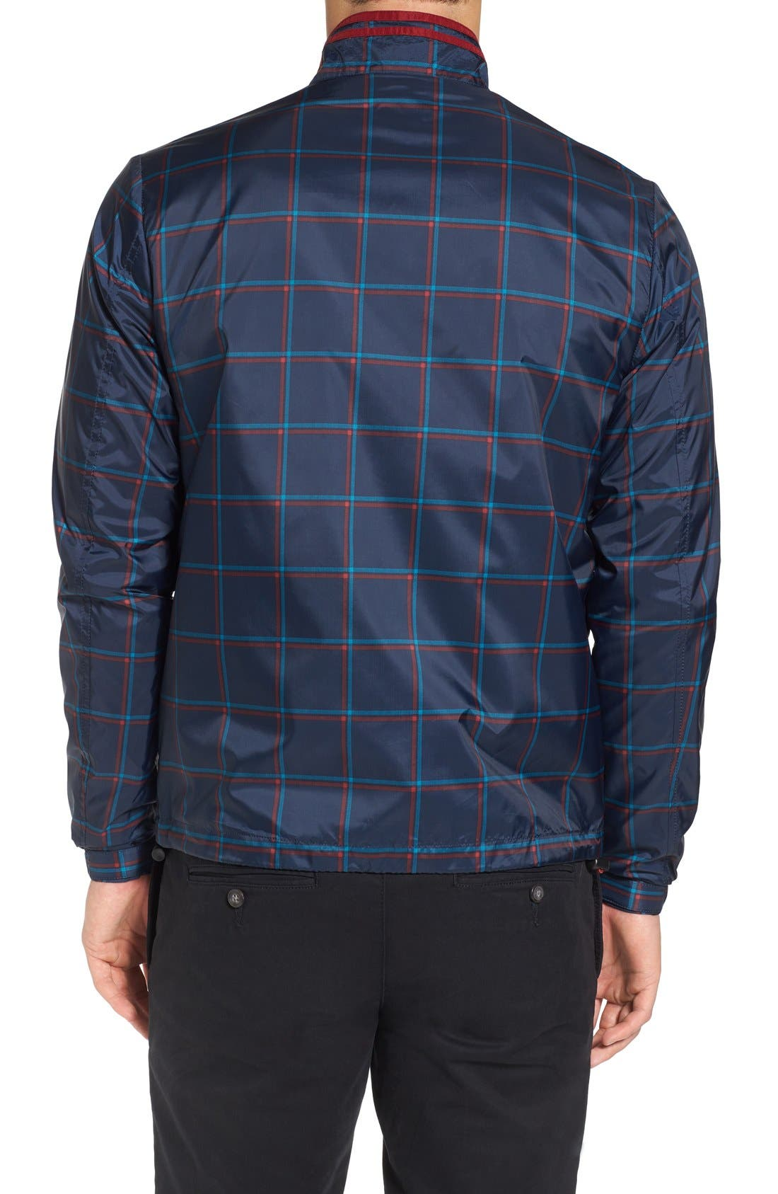 Alternate Image 2  - Original Penguin Plaid Print Zip Jacket