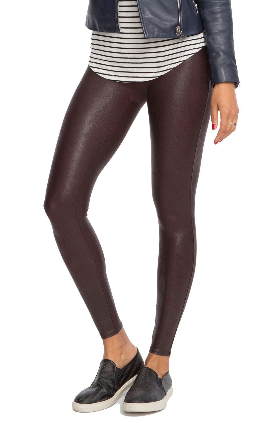 SPANX® Faux Leather Leggings