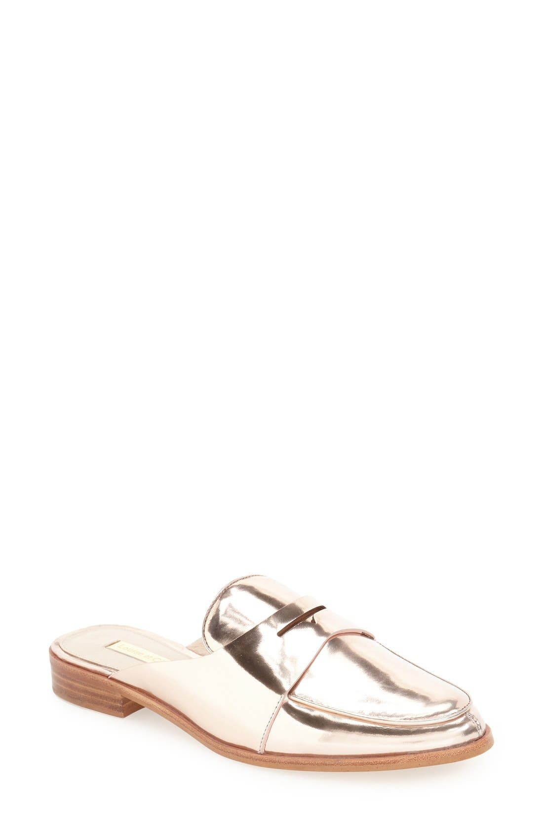 Alternate Image 1 Selected - Louise et Cie Dugan Flat Loafer Mule (Women)