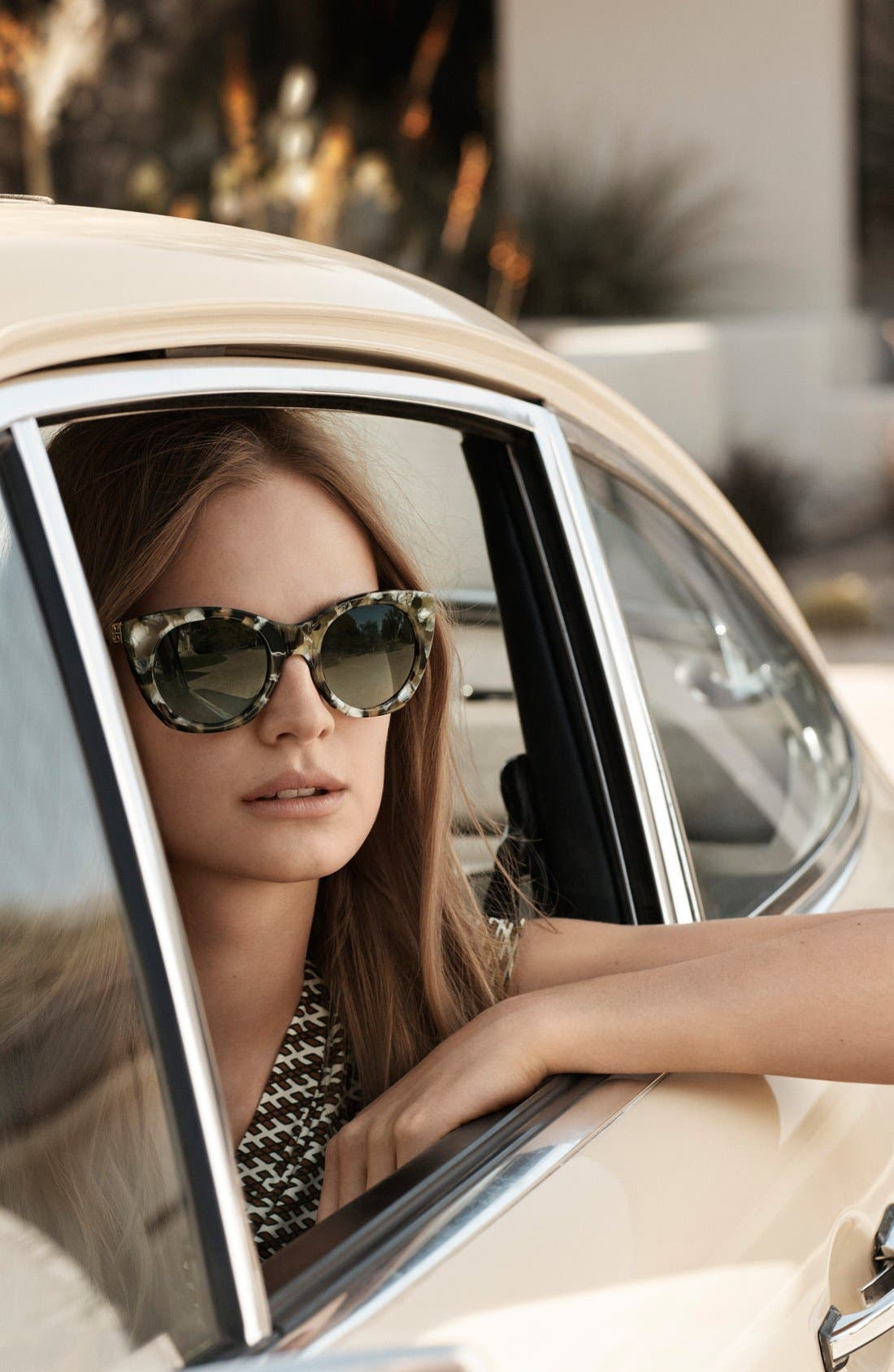 Alternate Image 3  - Tory Burch 52mm Cat Eye Sunglasses