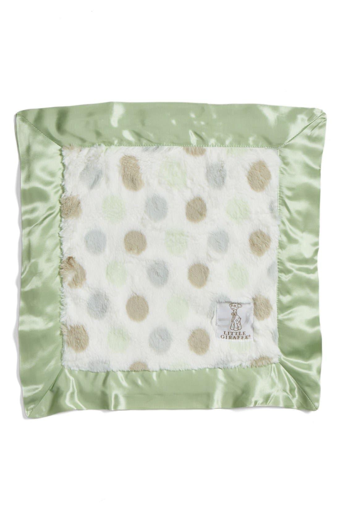 Alternate Image 1 Selected - Little Giraffe 'Luxe Dot' Blanket