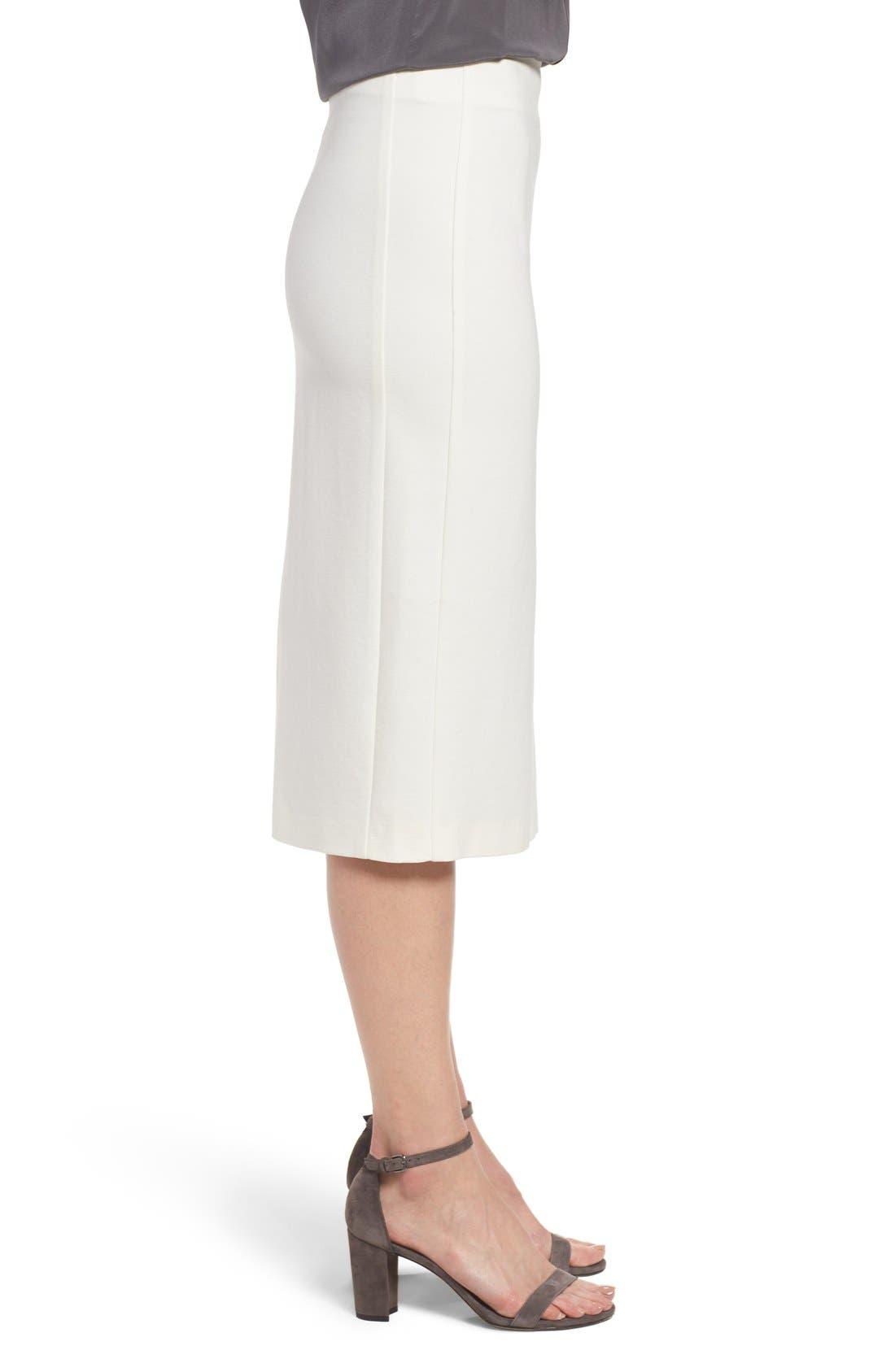 Alternate Image 4  - Vince Camuto Ponte Midi Skirt (Regular & Petite)